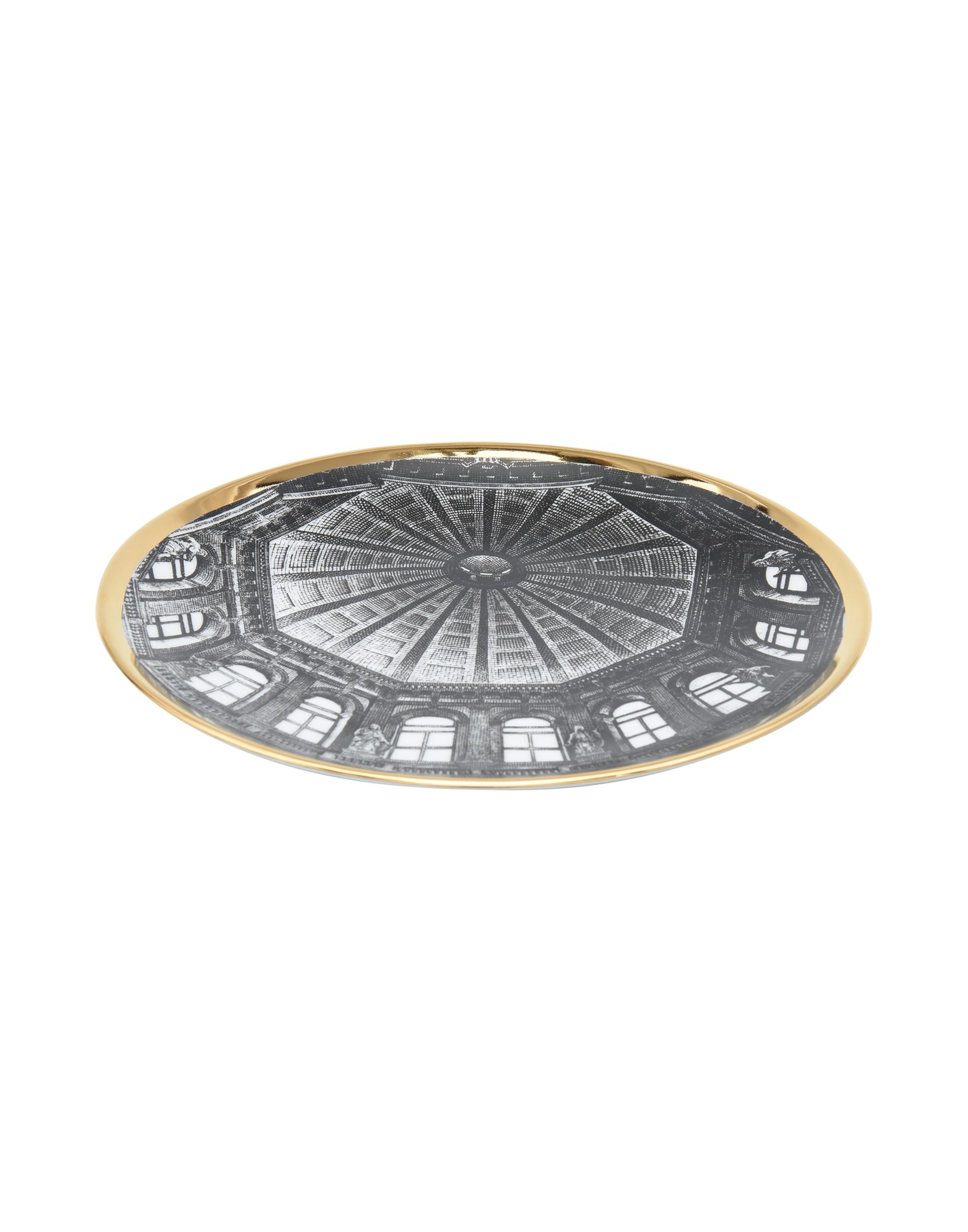 FORNASETTI Декоративная тарелка декоративная тарелка rich line home decor золотой лист 22 wer 5607 золотой