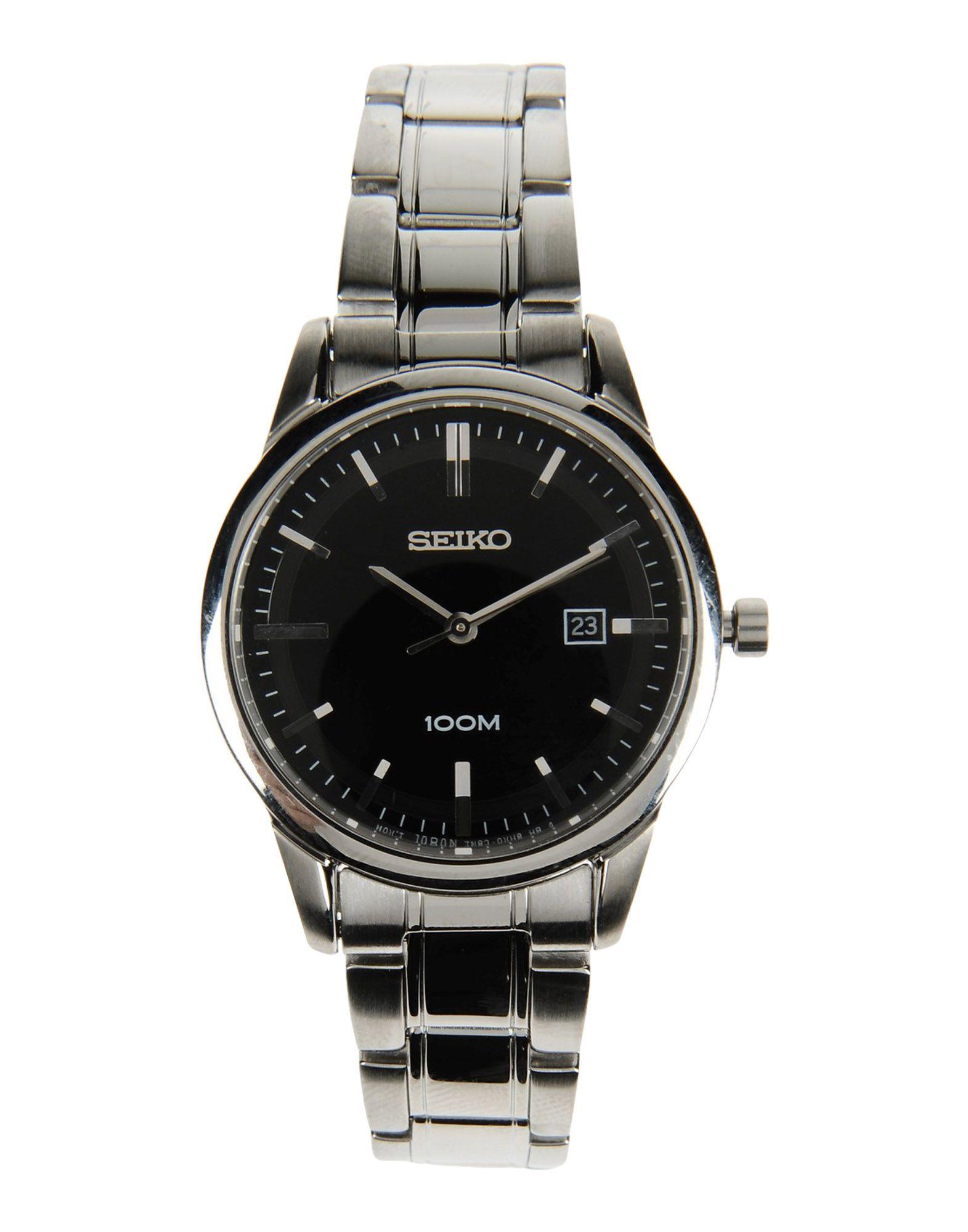 レディース SEIKO 腕時計 ブラック