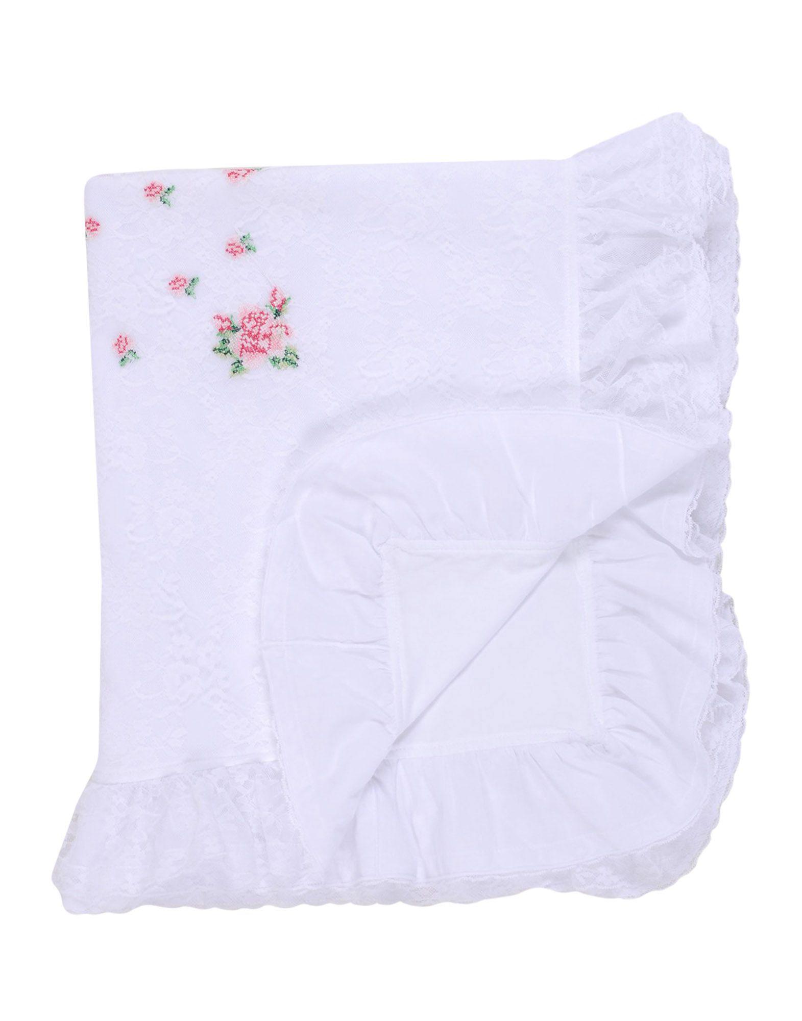 ALETTA Unisex Wolldecke Farbe Weiß Größe 1