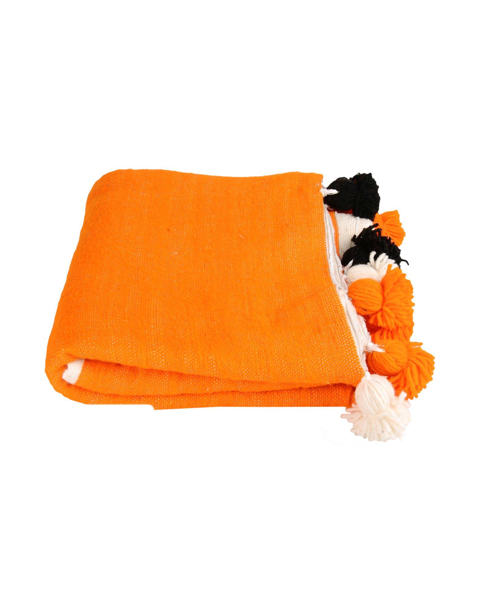 DARKROOM Unisex Wolldecke Farbe Orange Größe 1