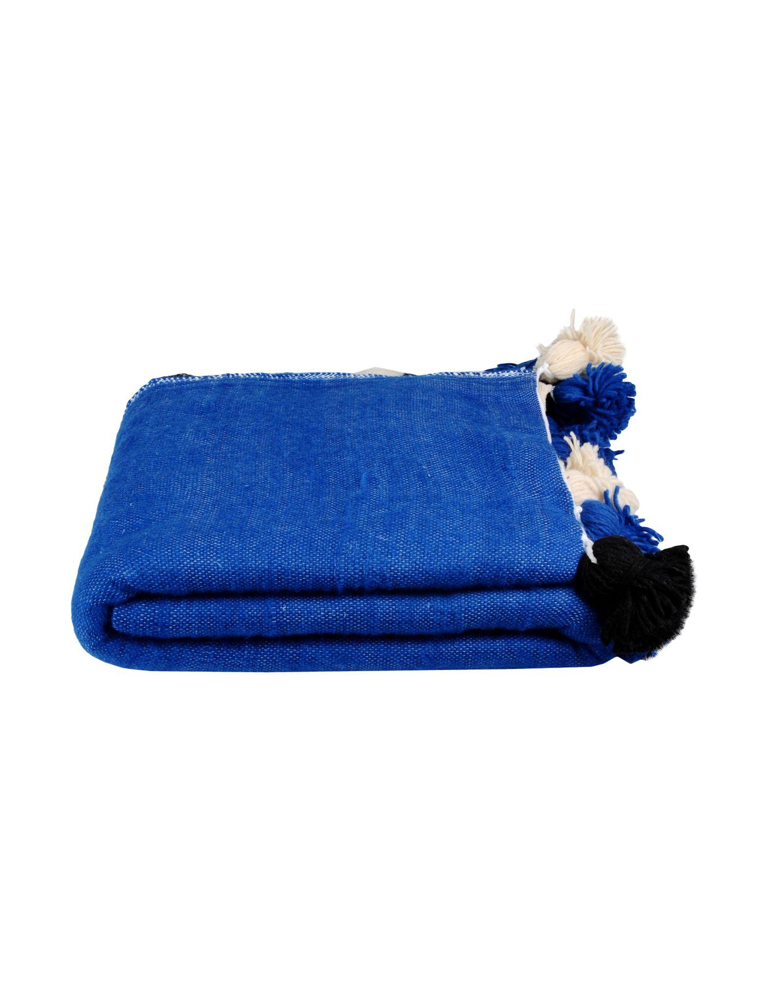 DARKROOM Unisex Wolldecke Farbe Königsblau Größe 1