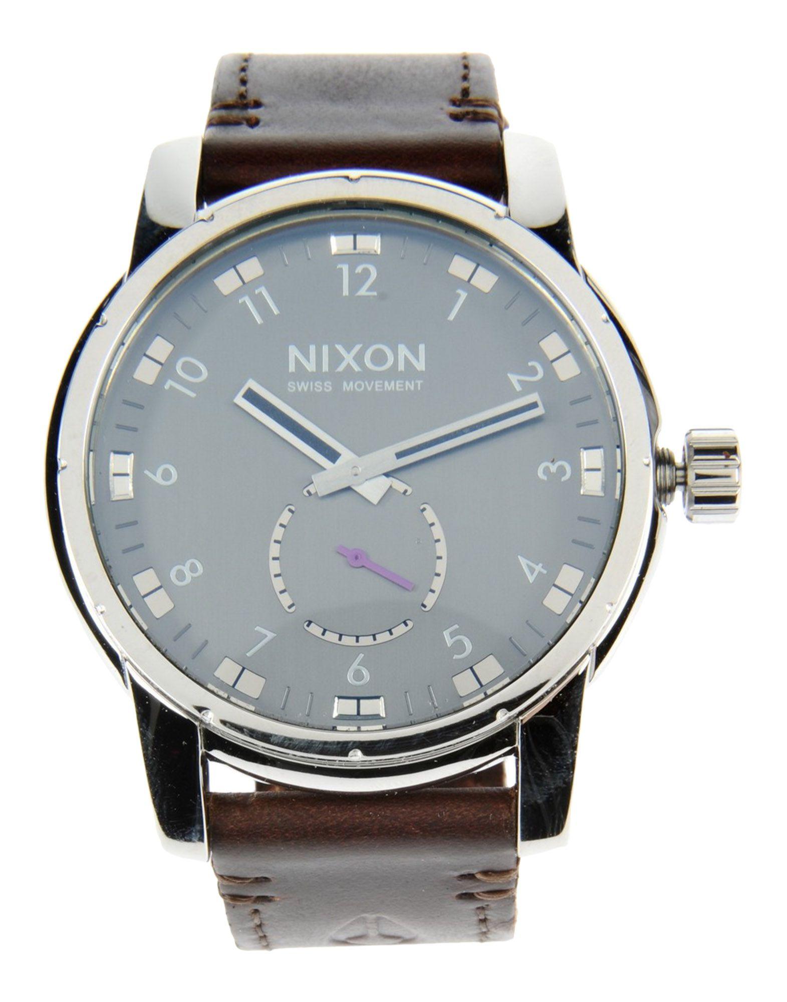 Фото NIXON Наручные часы часы nixon porter nylon gold white red