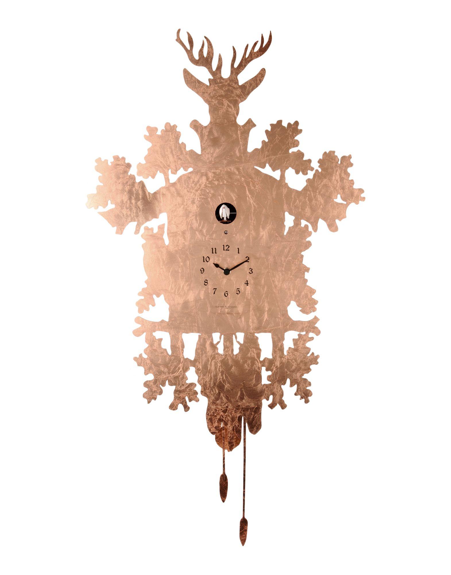 diamantini&domeniconi стеклянные настенные интерьерные часы 51 red DIAMANTINI & DOMENICONI Настенные часы