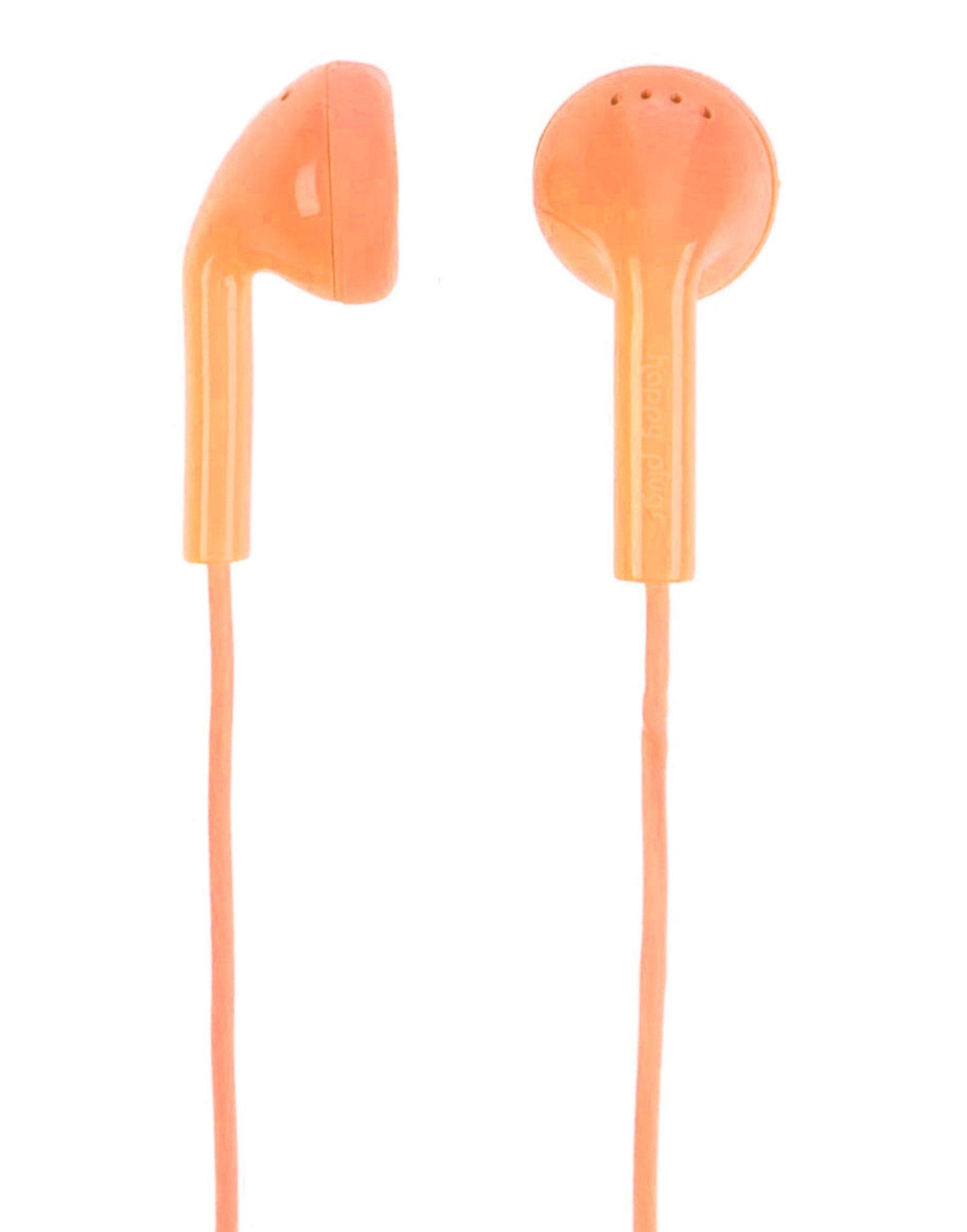 HAPPY PLUGS Herren Ohrstöpsel & Kopfhörer Farbe Orange Größe 1