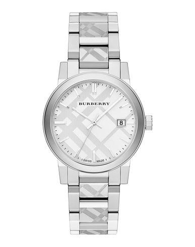BURBERRY レディース 腕時計 シルバー 金属繊維