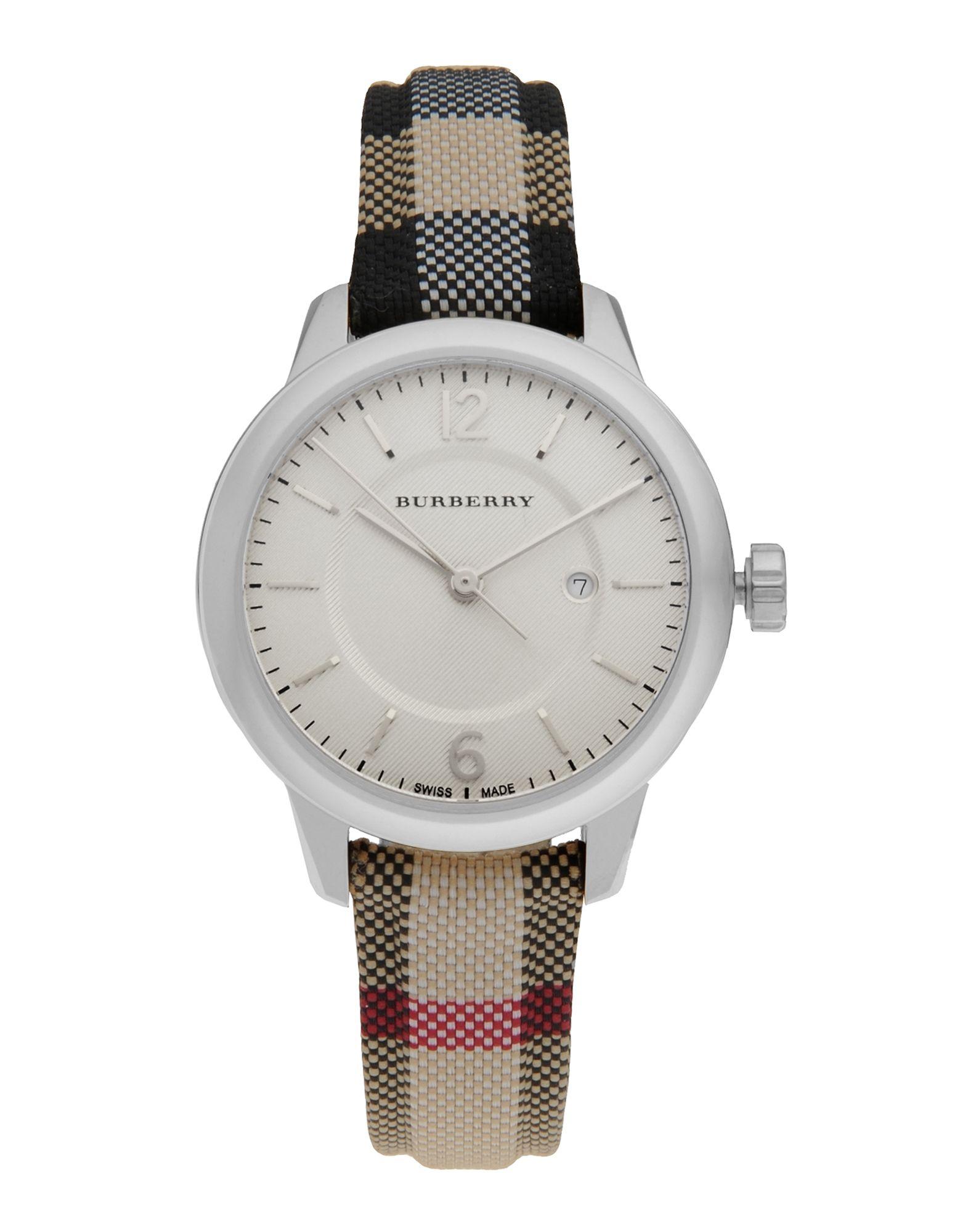 レディース BURBERRY 腕時計 アイボリー