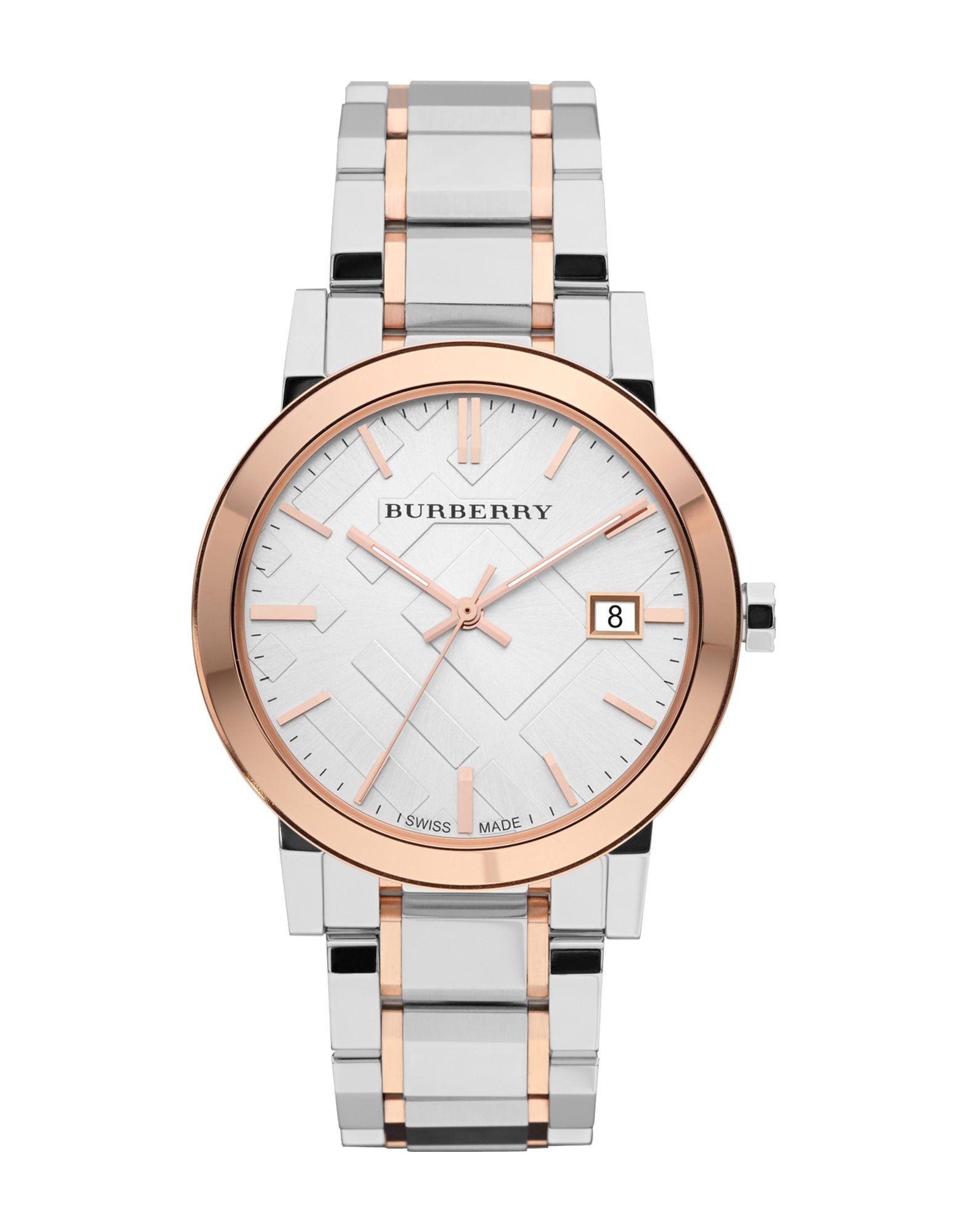 ユニセックス BURBERRY 腕時計 ホワイト