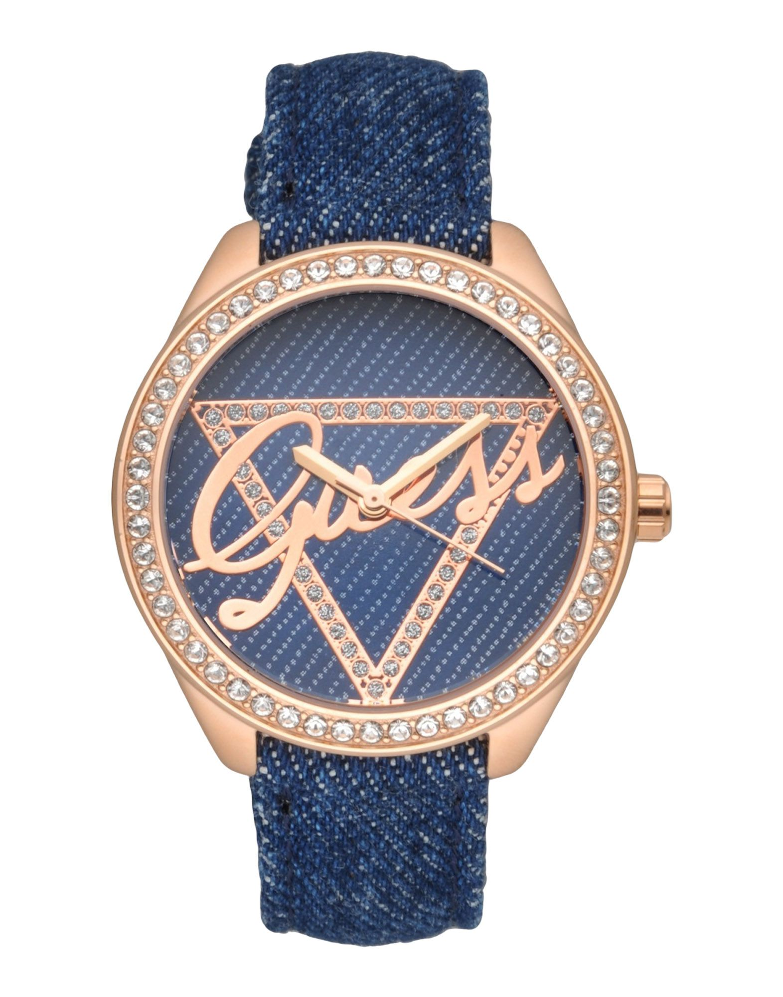 レディース GUESS 腕時計 ブルー