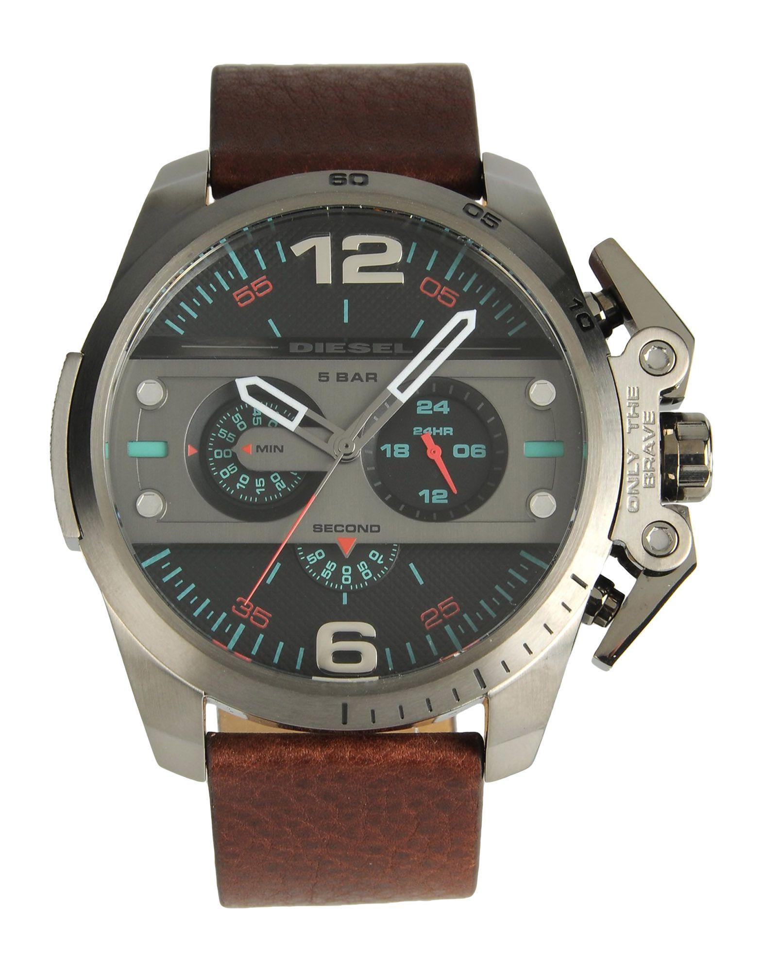 メンズ ディ-ゼル 腕時計 ブラウン