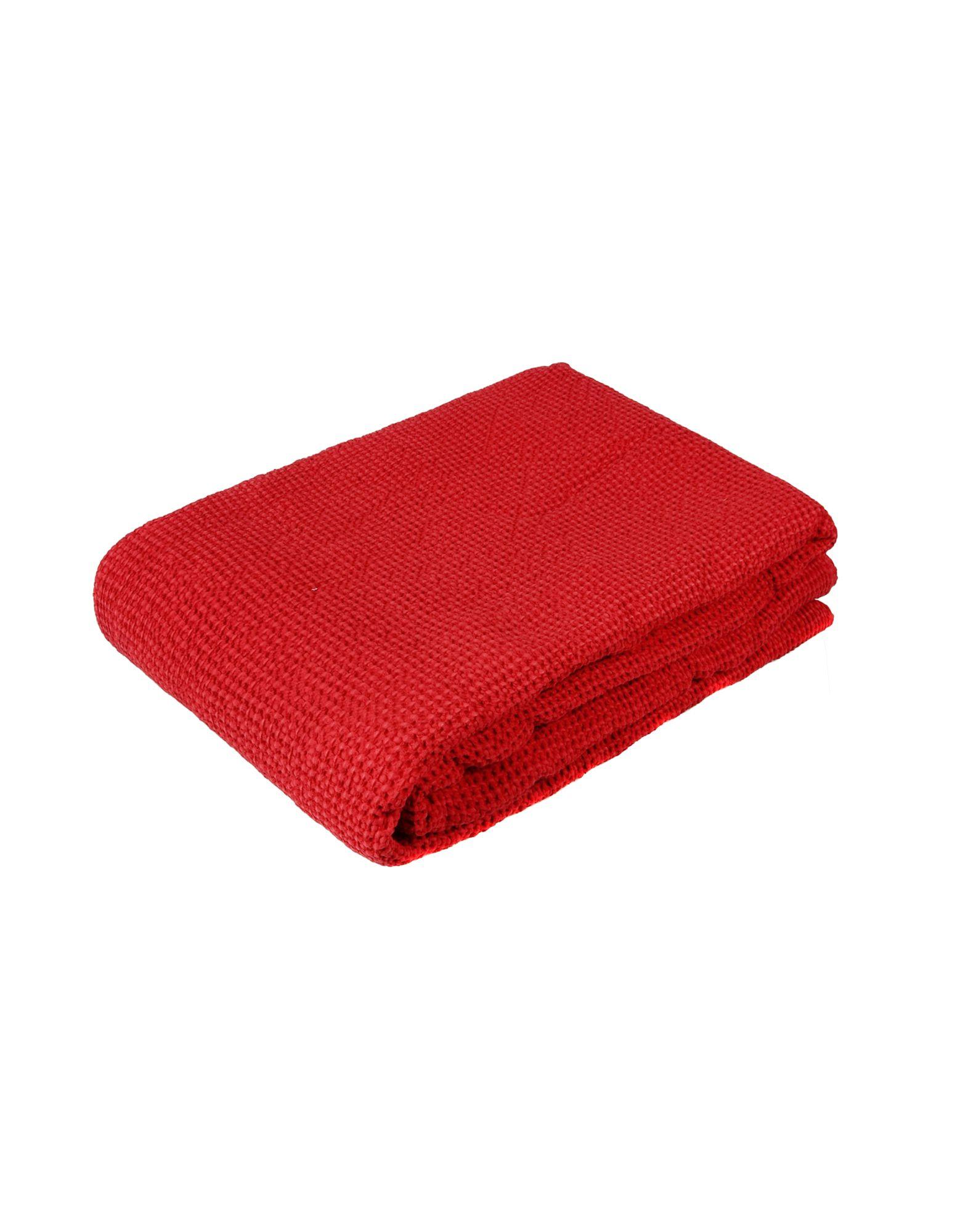 VIVARAISE Unisex Wolldecke Farbe Rot Größe 1