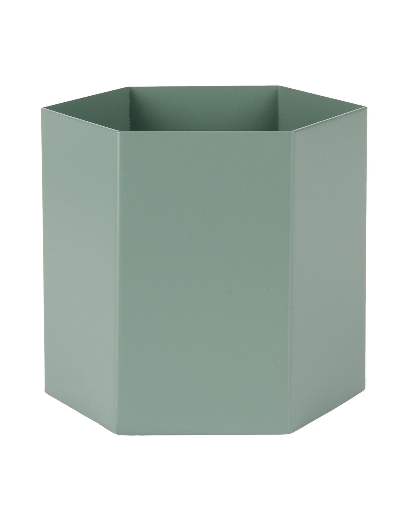 《送料無料》FERM LIVING Unisex ベース グリーン 金属繊維 Hexagon