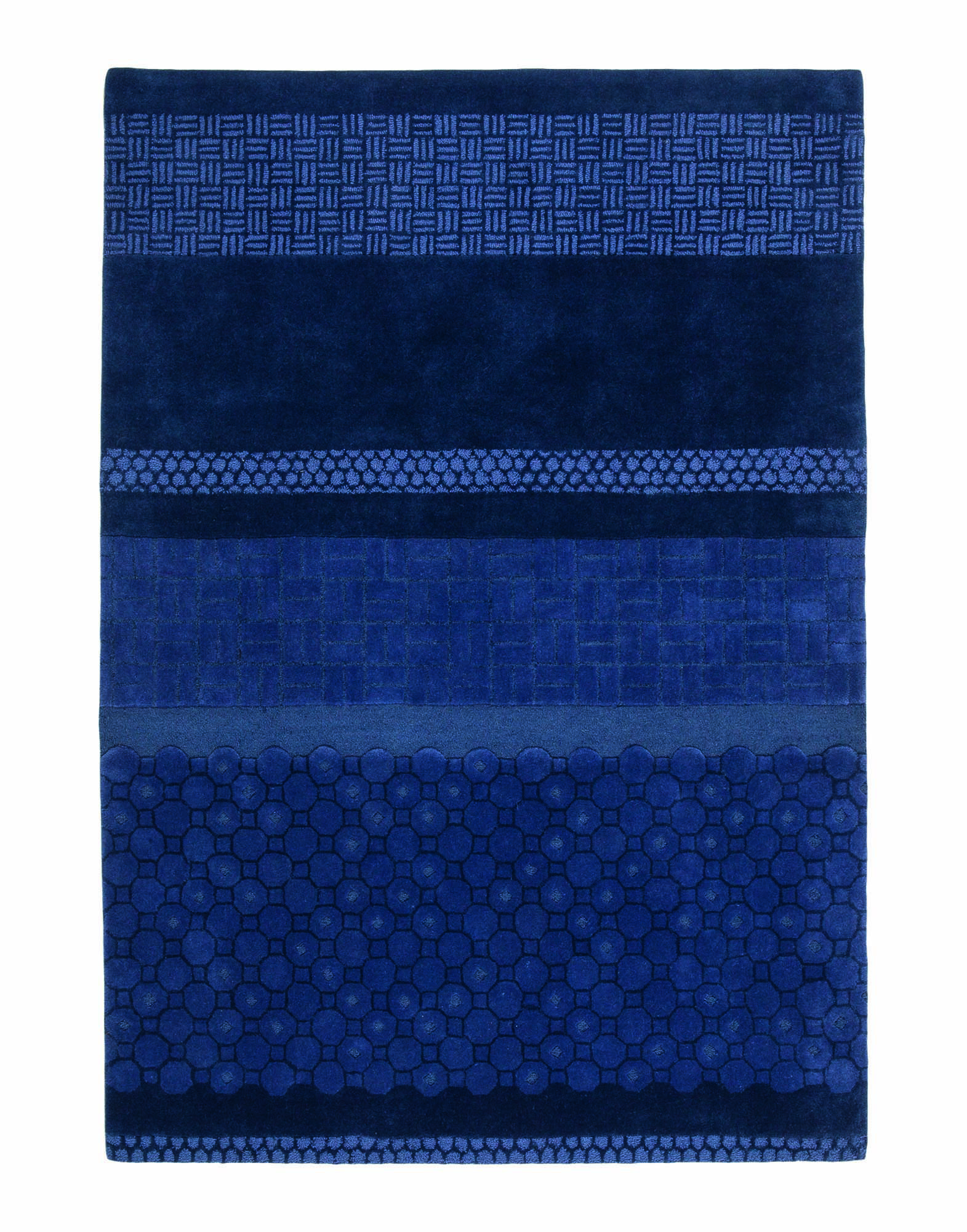 NANIMARQUINA Unisex Teppich Farbe Blau Größe 1