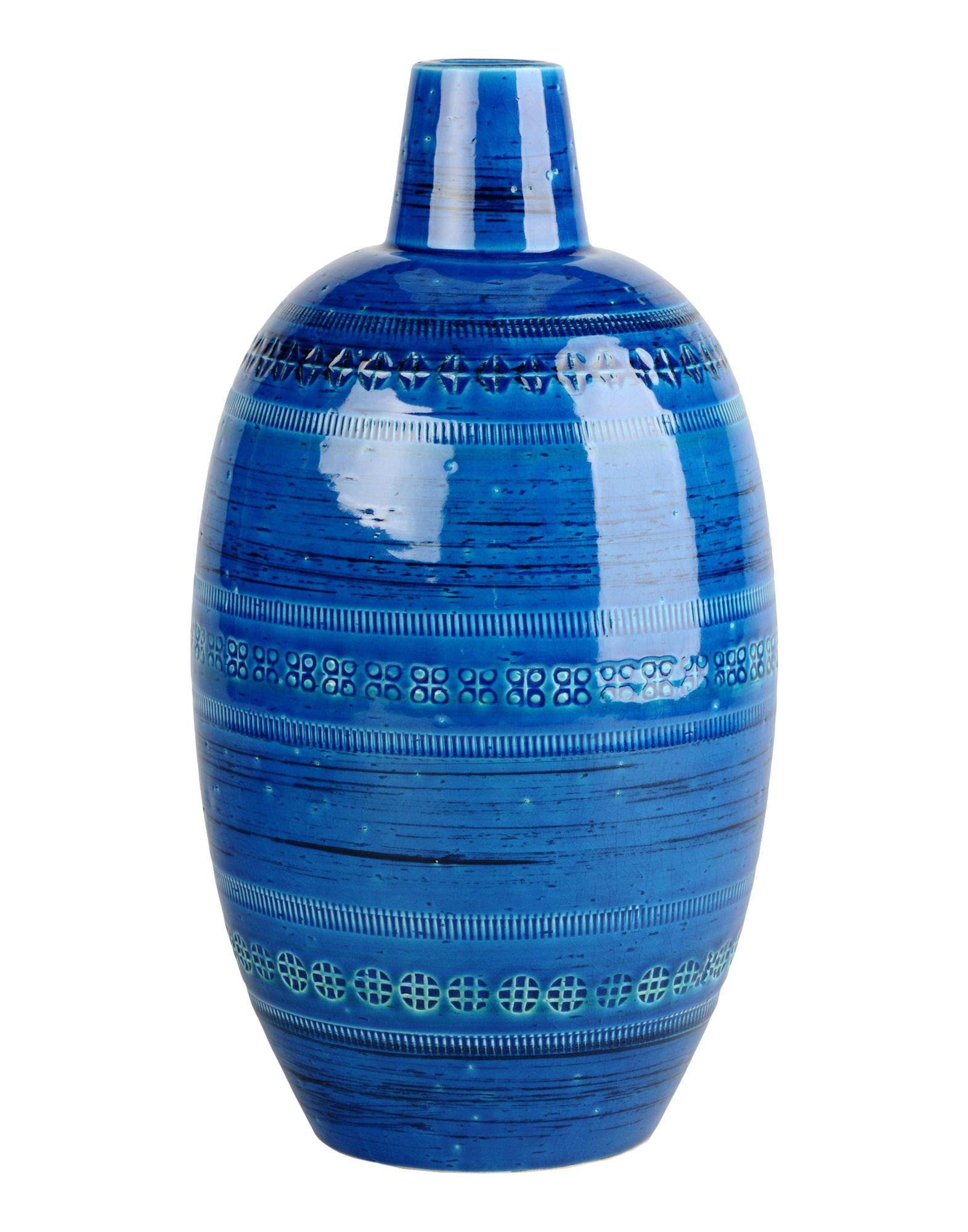 BITOSSI CERAMICHE Ваза декор impronta ceramiche shine batik turchese dec c 24x59