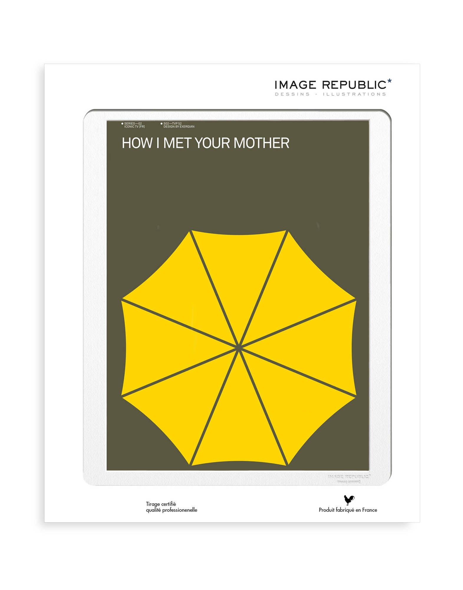 《送料無料》IMAGE REPUBLIC Unisex デコレーション (-) 指定外繊維(紙) How I met your mother