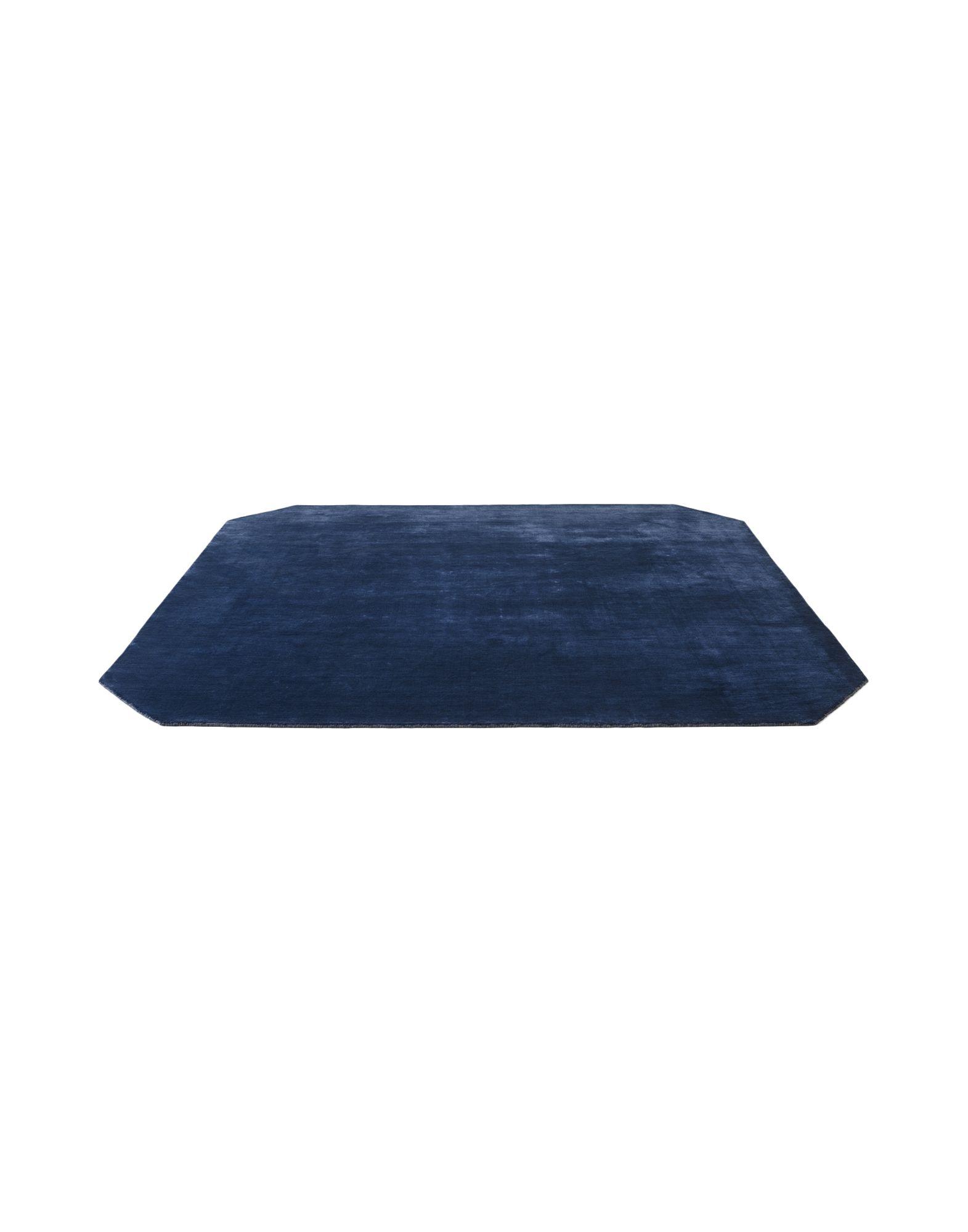 &TRADITION Unisex Teppich Farbe Blau Größe 1