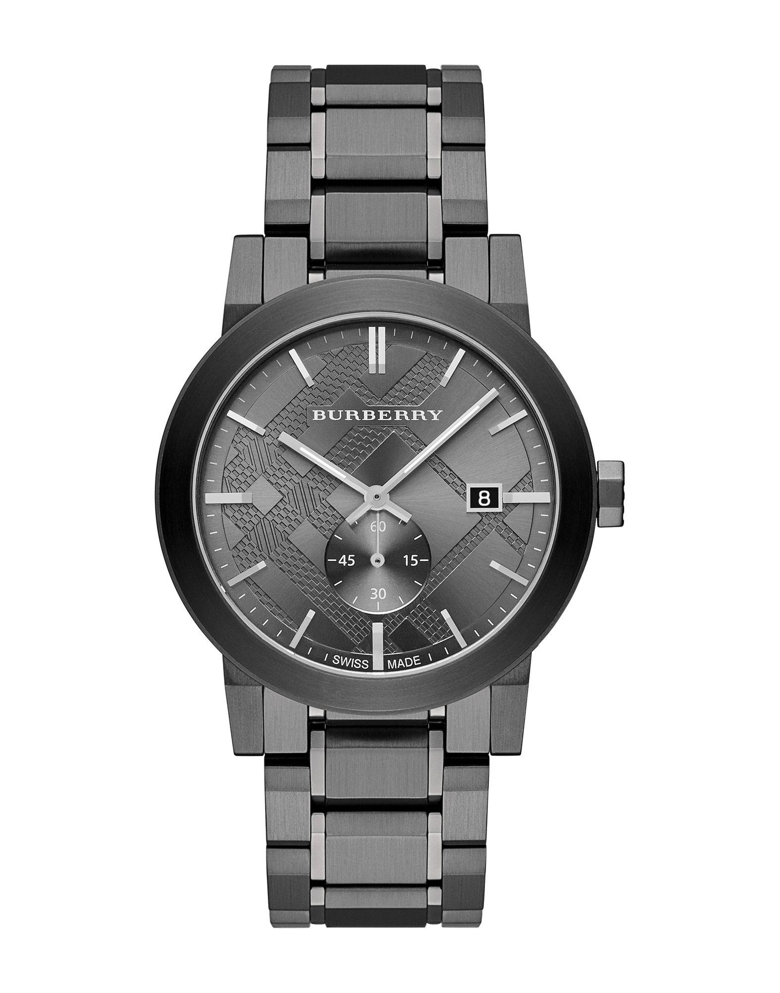 メンズ BURBERRY 腕時計 鉛色