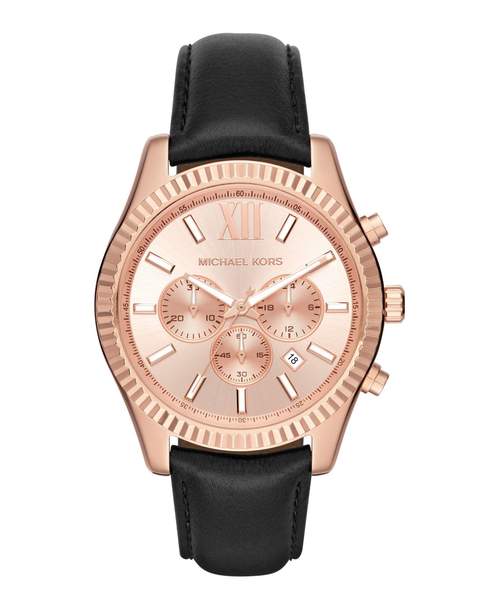 メンズ マイケル コース 腕時計 カッパー