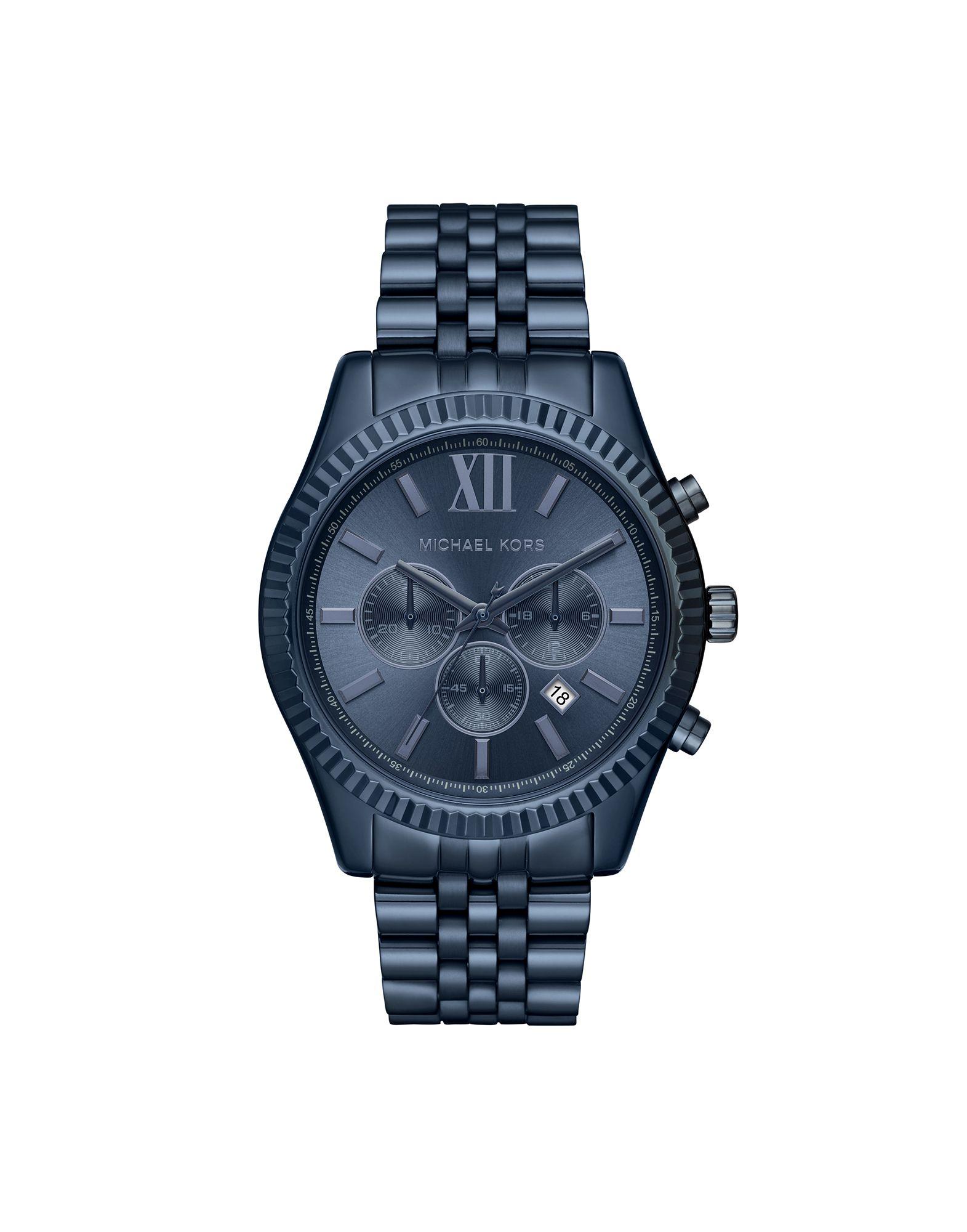 メンズ マイケル コース 腕時計 ディープパープル