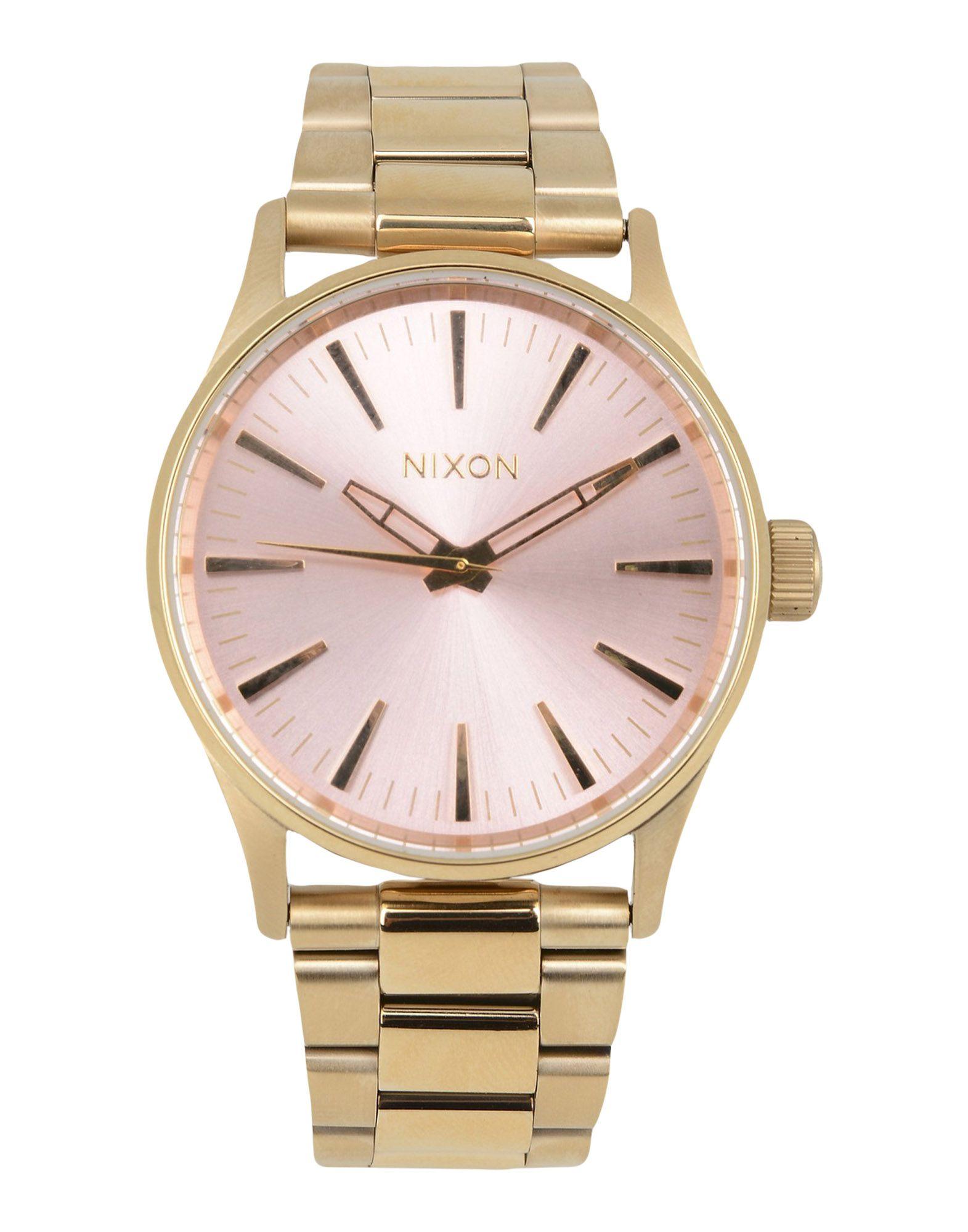 NIXON メンズ 腕時計 カッパー ステンレススチール A450 SENTRY SS