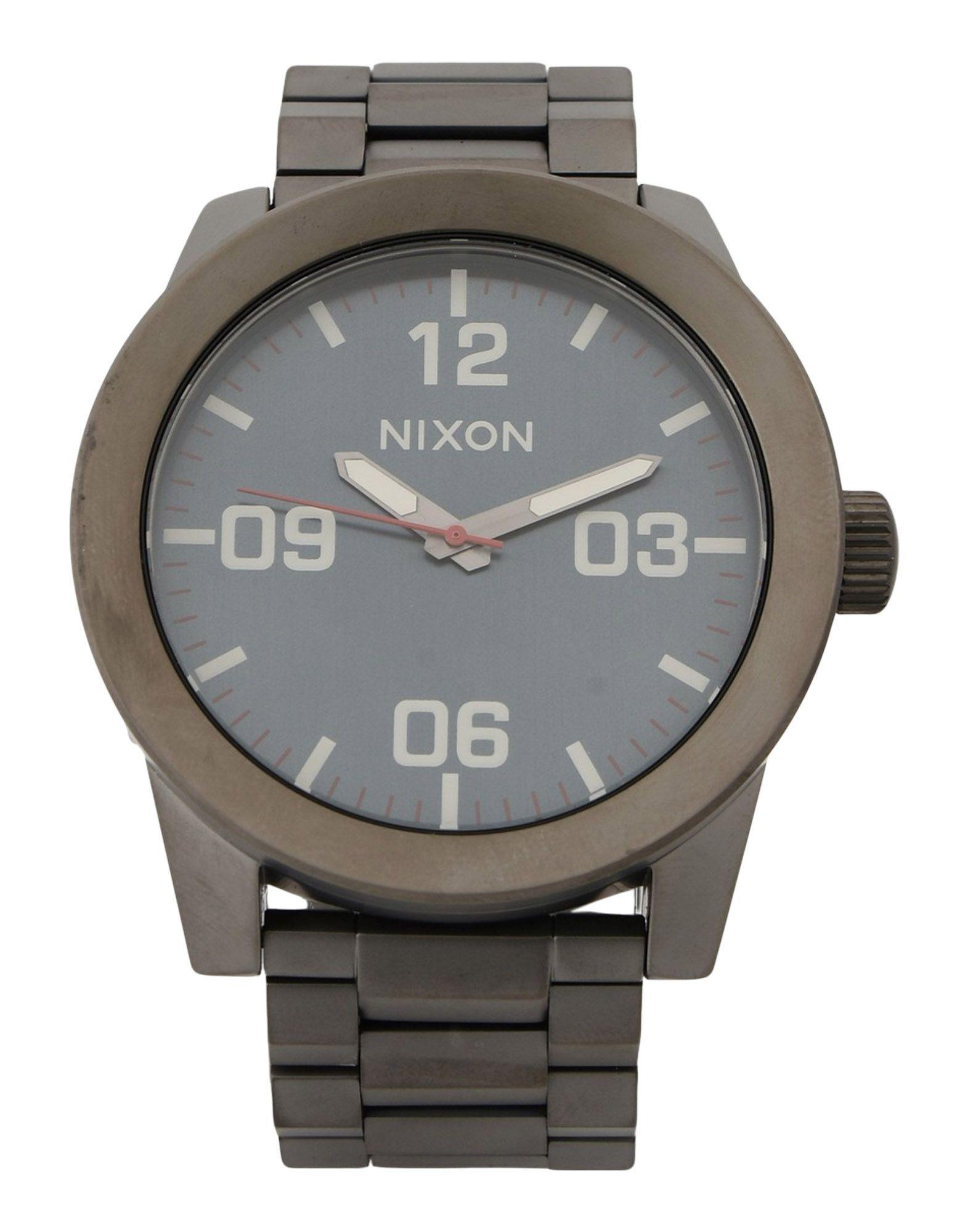 メンズ NIXON 腕時計 グレー