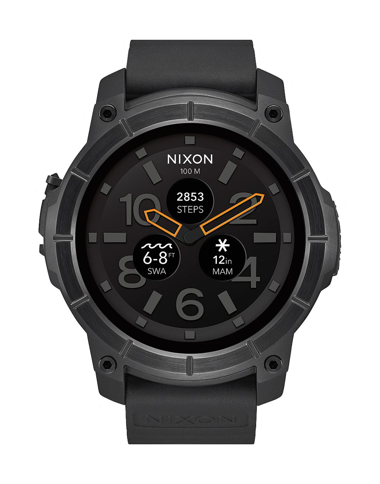 Фото NIXON Умные часы часы nixon porter nylon gold white red