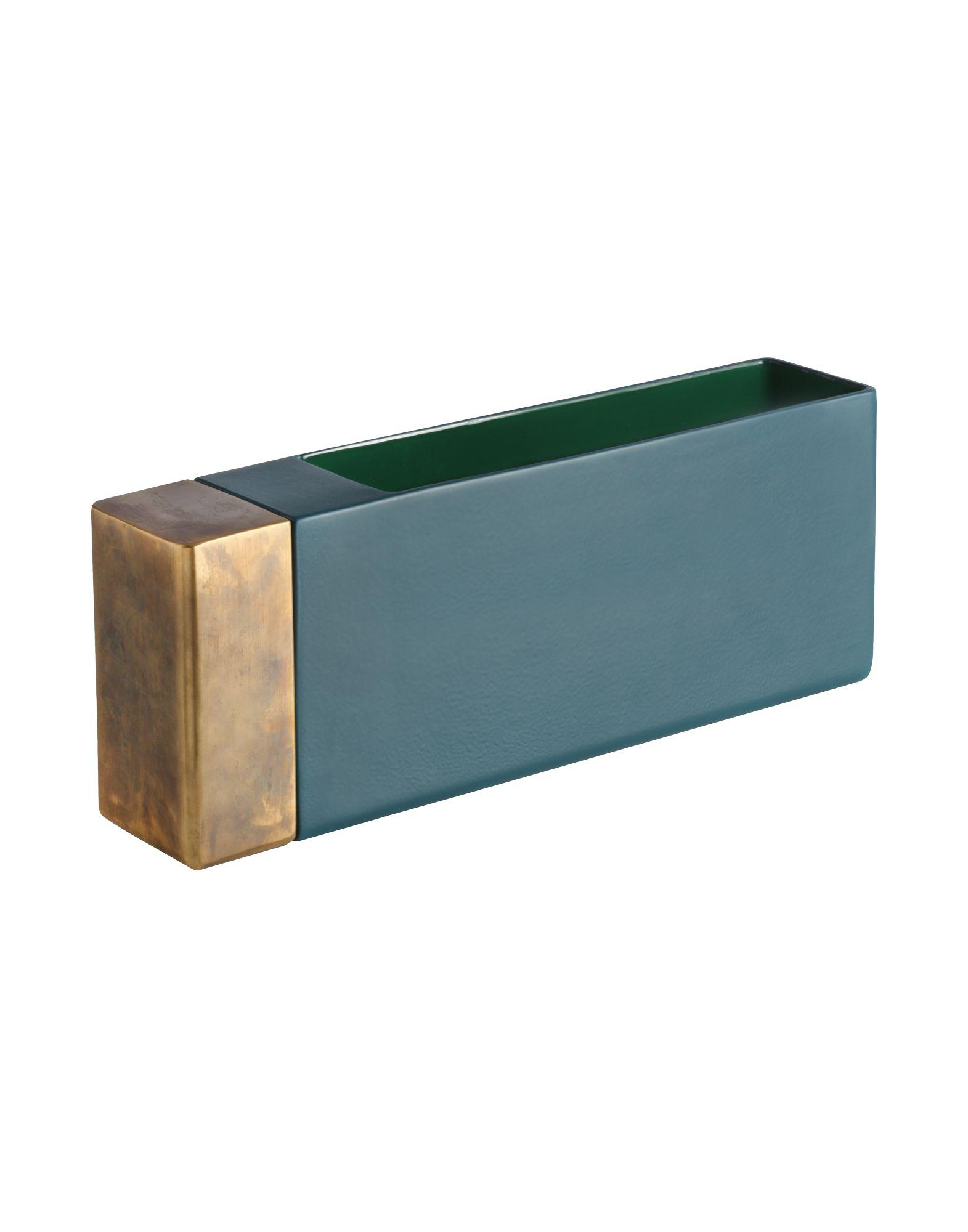 BITOSSI CERAMICHE Ваза декор impronta ceramiche square wall bianco formel oro 12 5x25