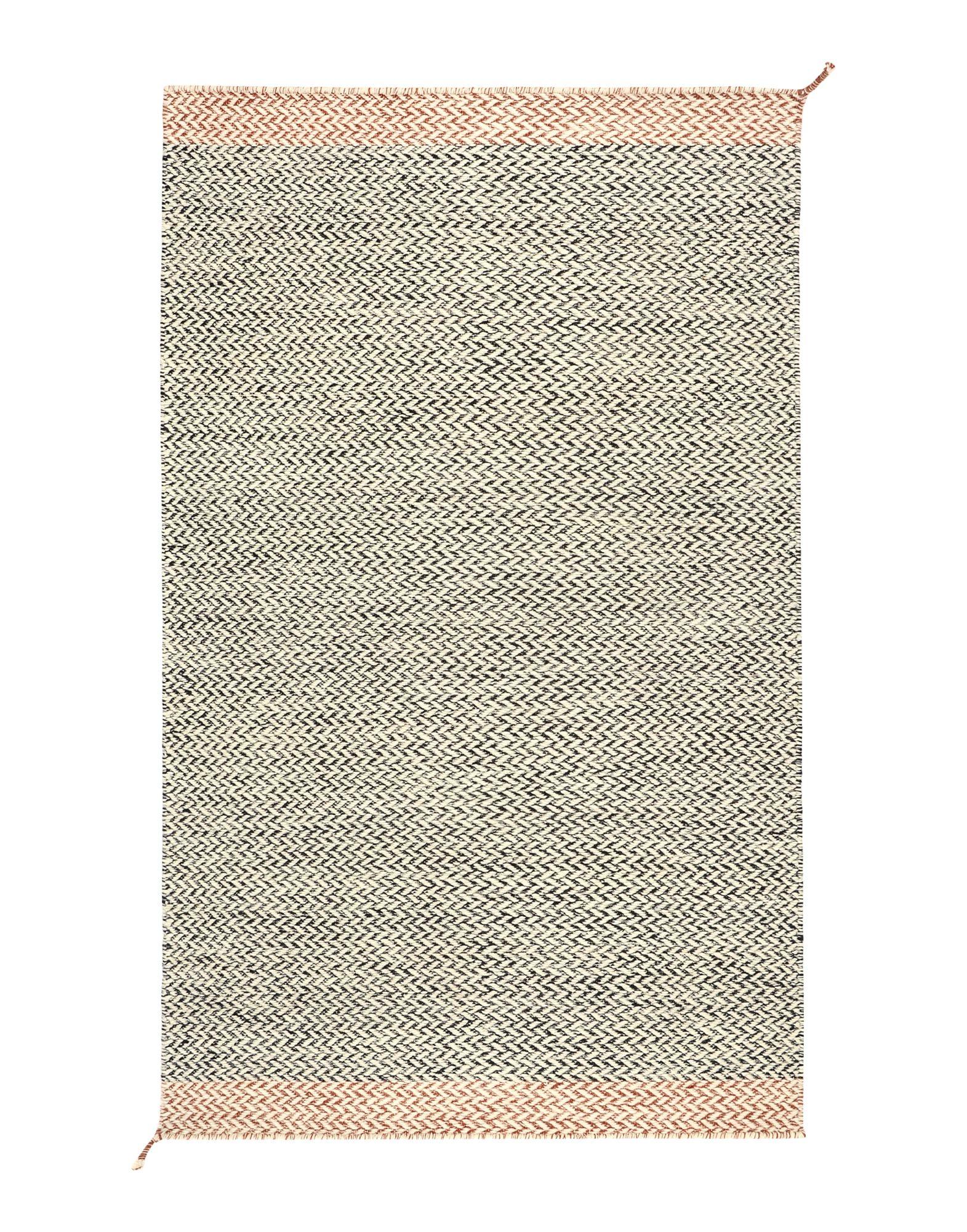 MUUTO Unisex Teppich Farbe Schwarz Größe 1