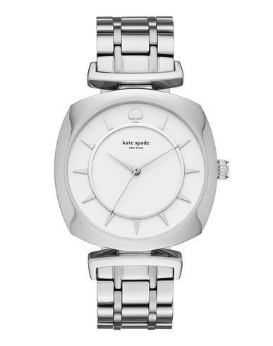 KATE SPADE New York Damen Armbanduhr Weiß Edelstahl