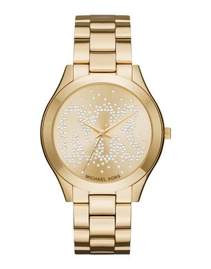 MICHAEL KORS Damen Armbanduhr Farbe Gold Größe 1 Sale Angebote Drieschnitz-Kahsel