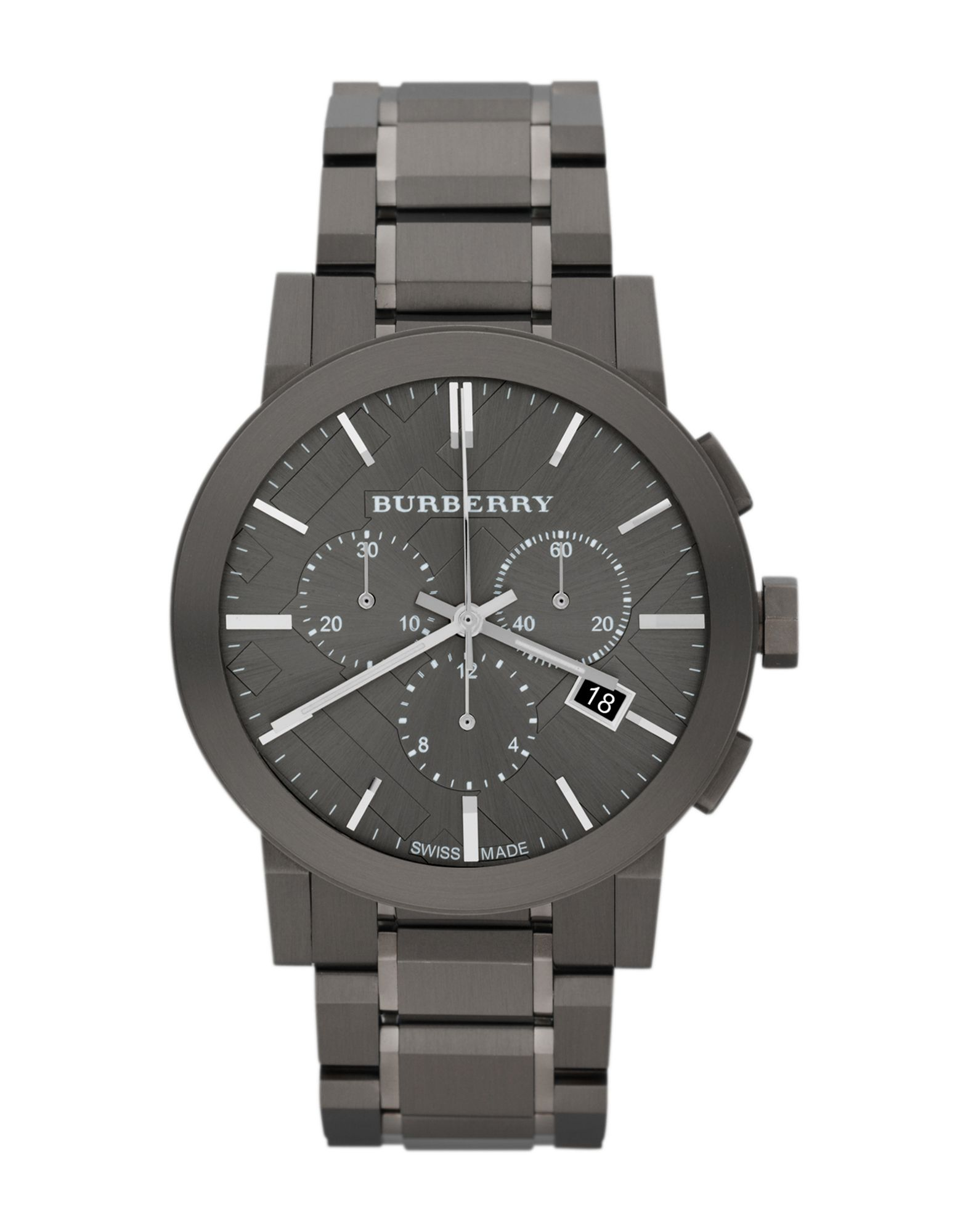 メンズ BURBERRY 腕時計 ブルー