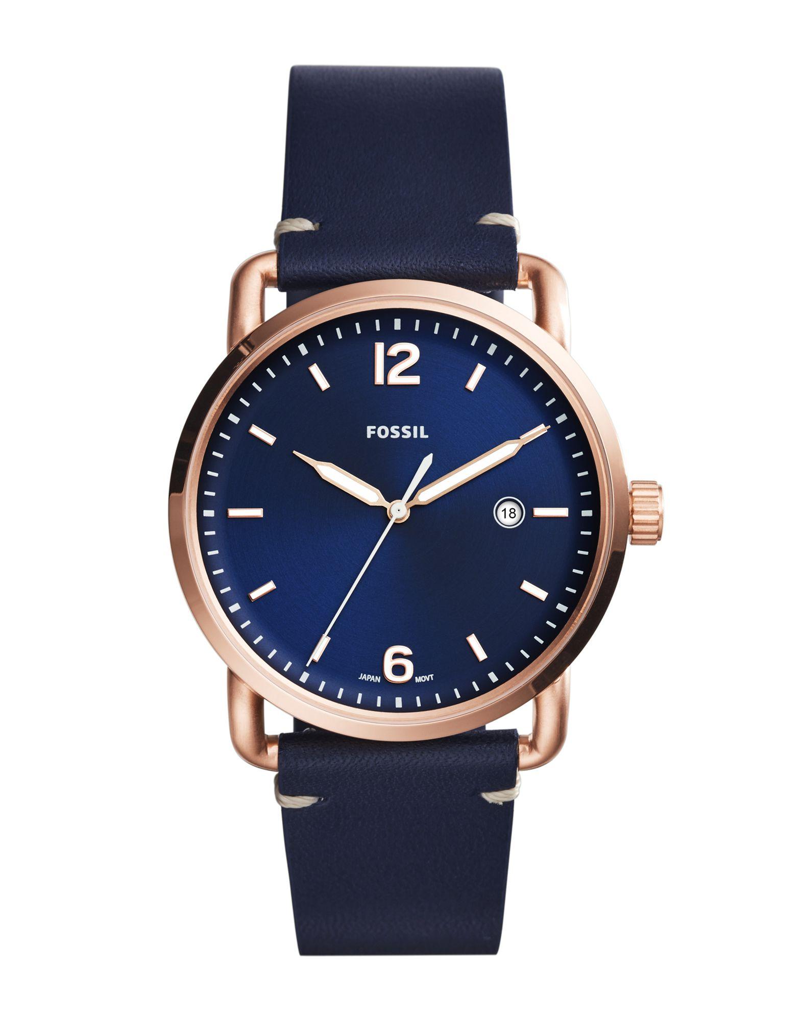 FOSSIL Наручные часы часы relogio feminino мужчины ложная крокодил кожа blu ray часынаручные часы