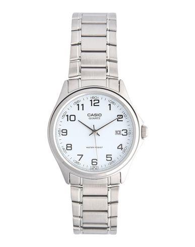 CASIO メンズ 腕時計 ホワイト ステンレススチール / ガラス / 真鍮/ブラス