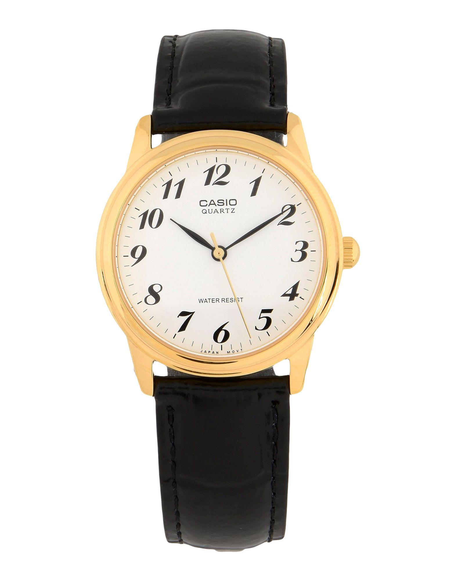 CASIO Herren Armbanduhr Farbe Weiß Größe 1