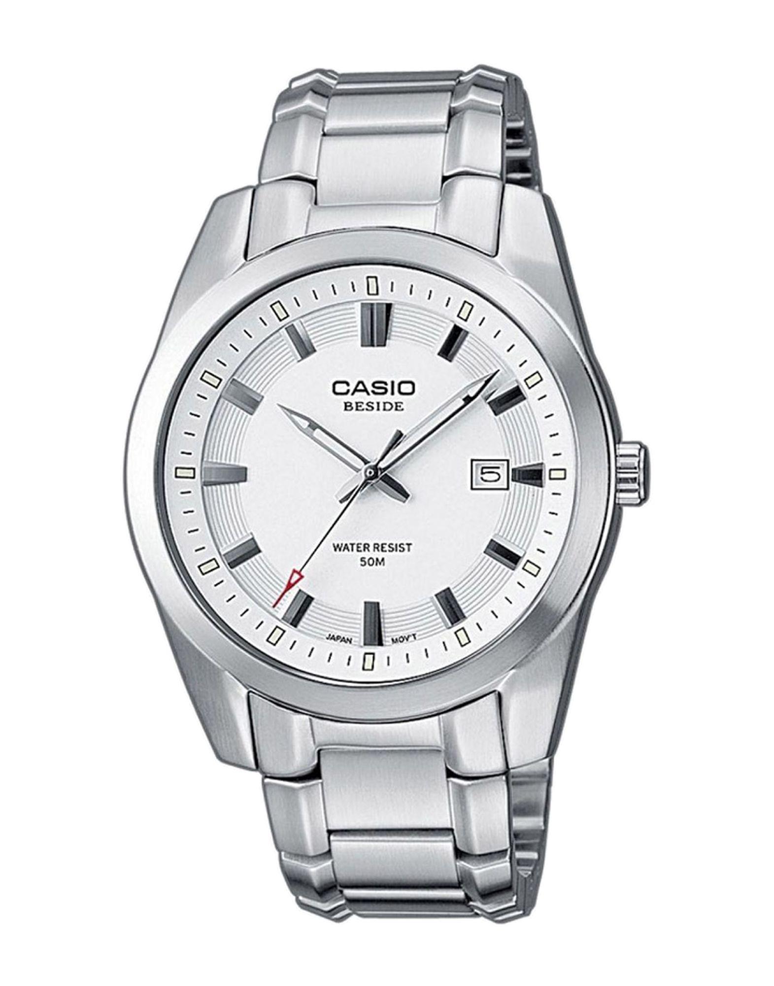 《送料無料》CASIO メンズ 腕時計 シルバー ステンレススチール / ガラス BEM-111D-7AVEF COLLECTION