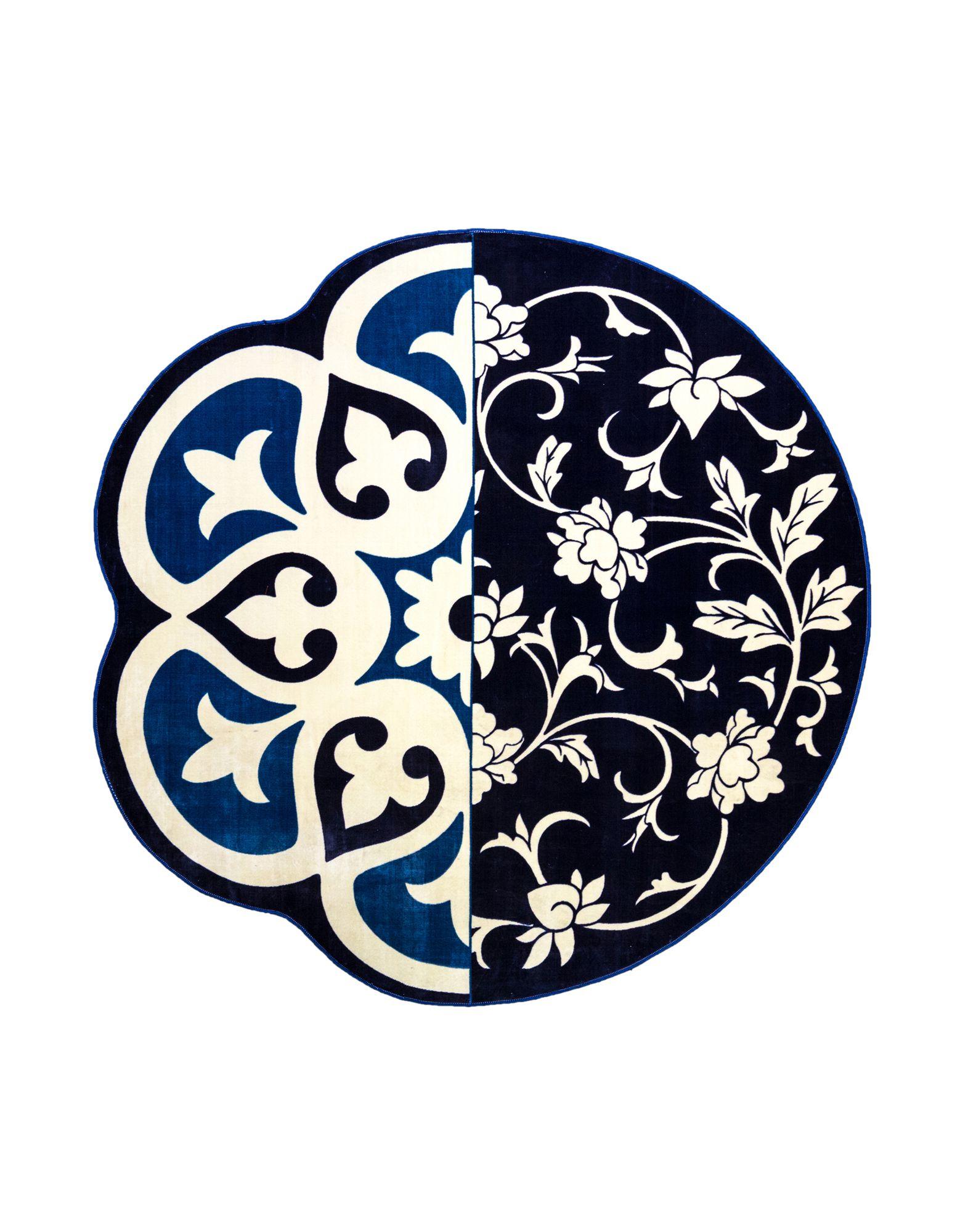 SELETTI Unisex Teppich Farbe Blau Größe 1