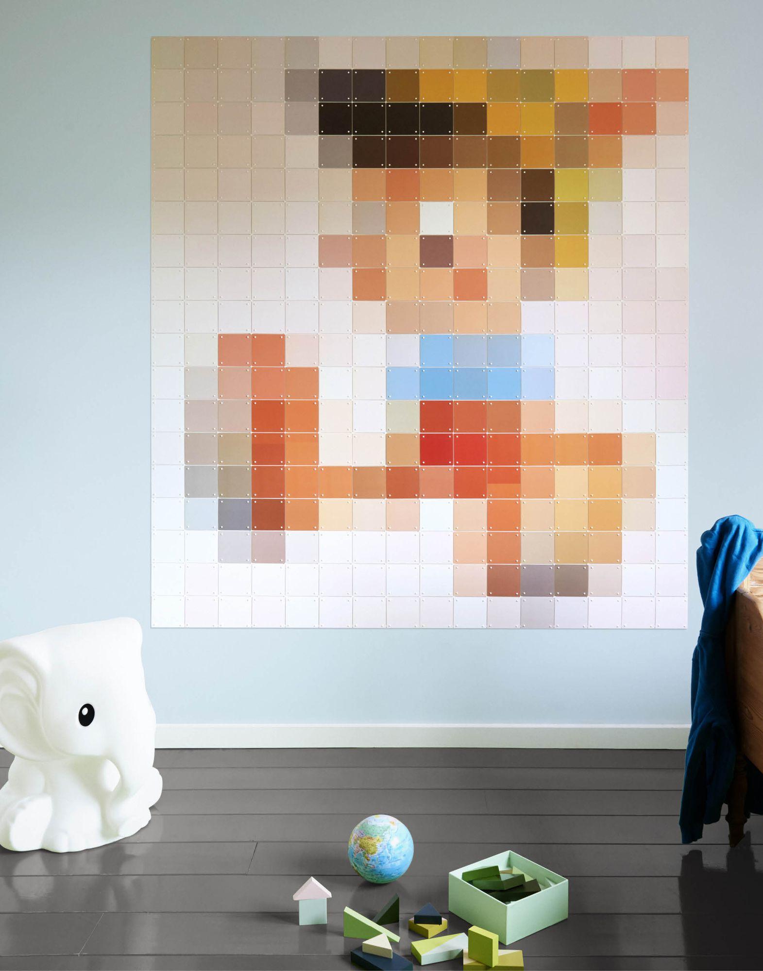 《送料無料》IXXI Unisex デコレーション ホワイト 合成紙 Pinocchio pixel