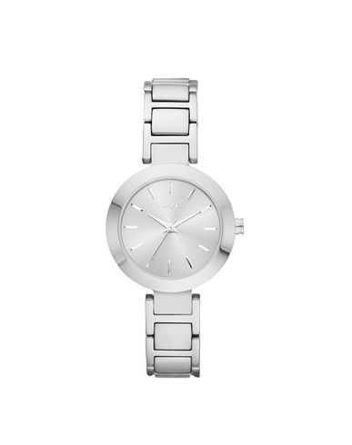 DKNY レディース 腕時計 シルバー ステンレススチール