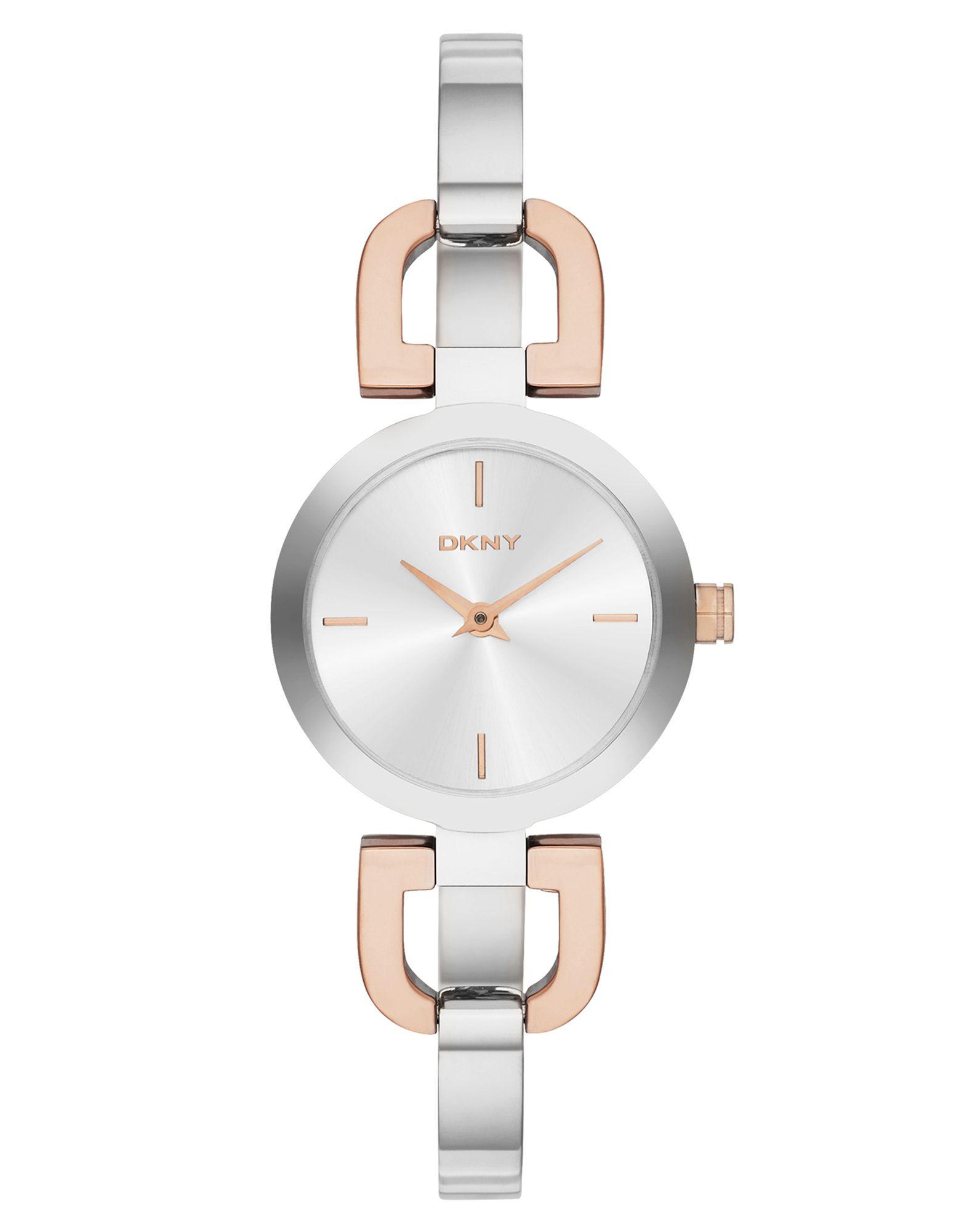 レディース DKNY READE 腕時計 シルバー