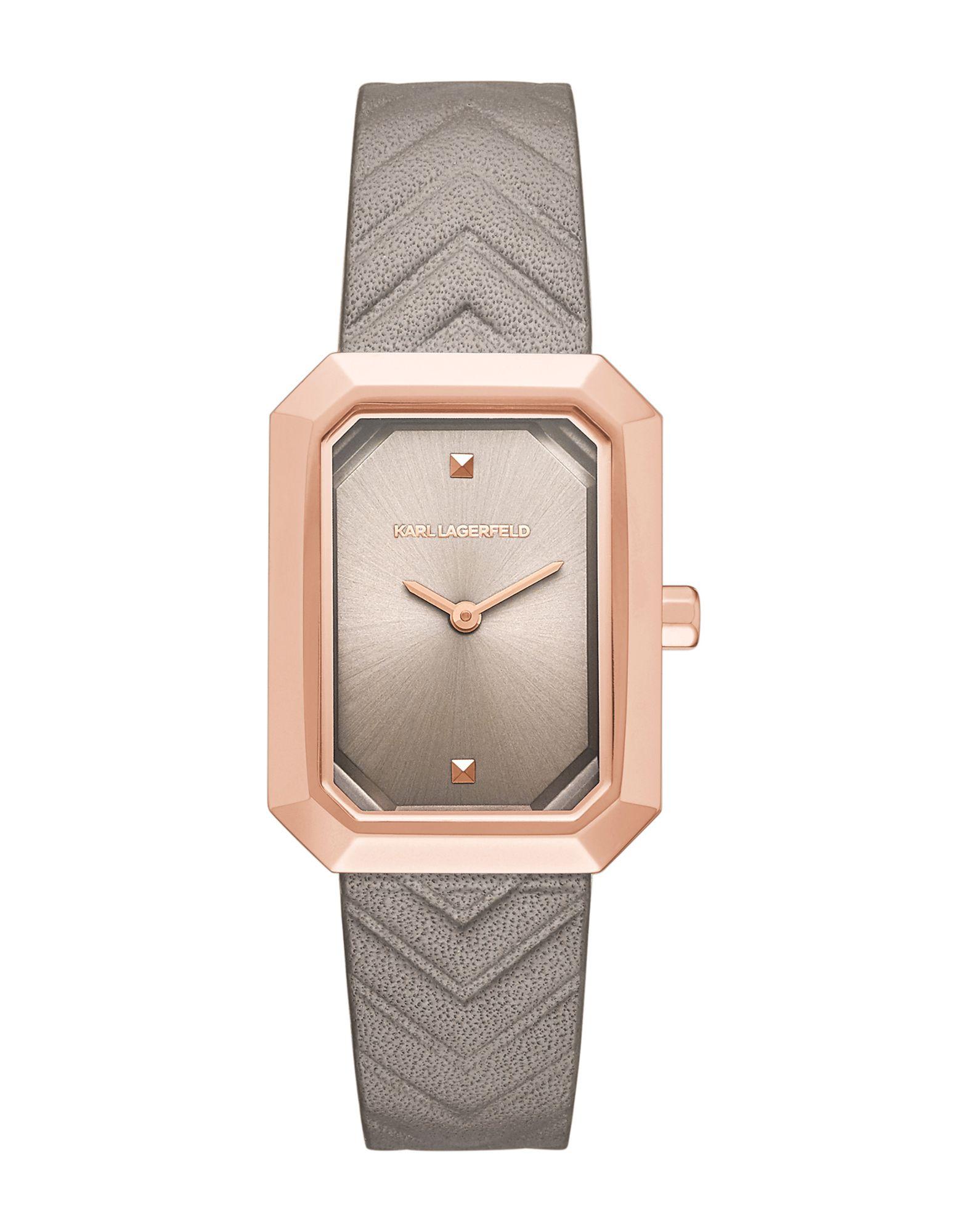 KARL LAGERFELD Наручные часы часы relogio feminino мужчины ложная крокодил кожа blu ray часынаручные часы