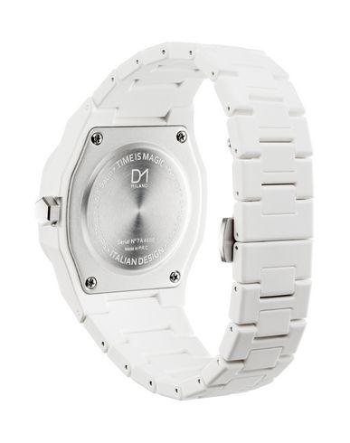 Фото 2 - Наручные часы от D1 MILANO белого цвета