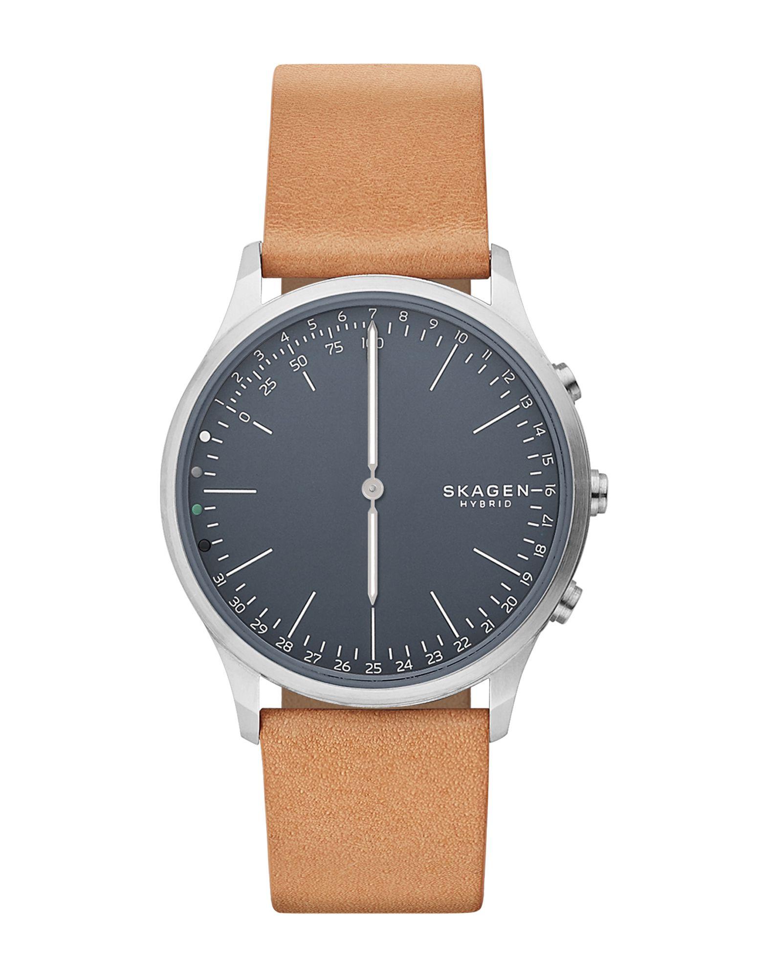 メンズ SKAGEN CONNECTED Jorn Hybrid Smartwatch スマートウォッチ タン