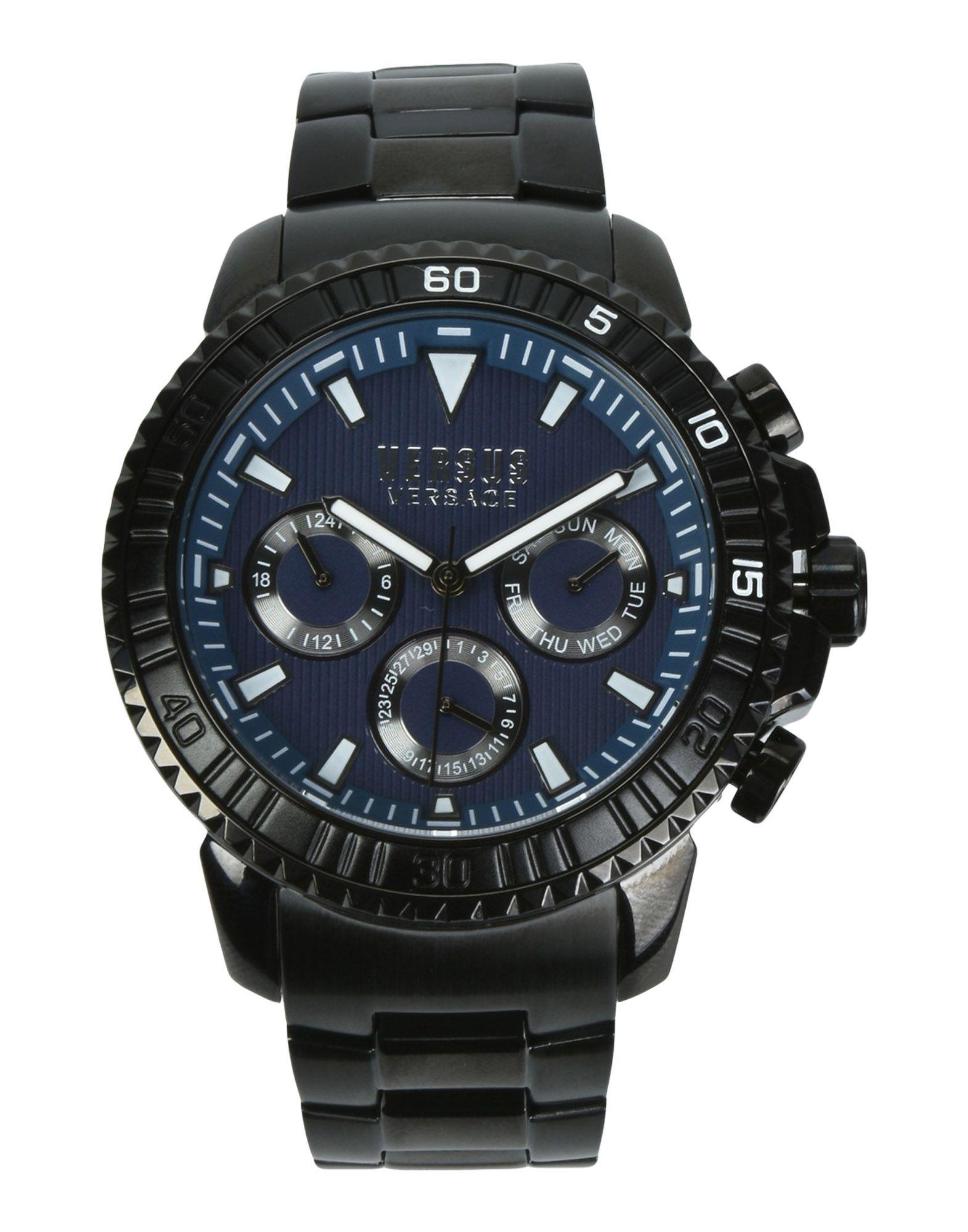 《送料無料》VERSUS VERSACE メンズ 腕時計 ブルー ステンレススチール VERSUS ABERDEEN