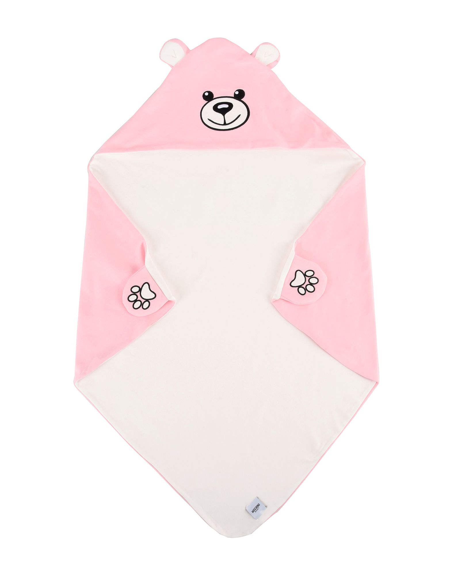 MOSCHINO BABY Unisex Wolldecke Farbe Rosa Größe 1