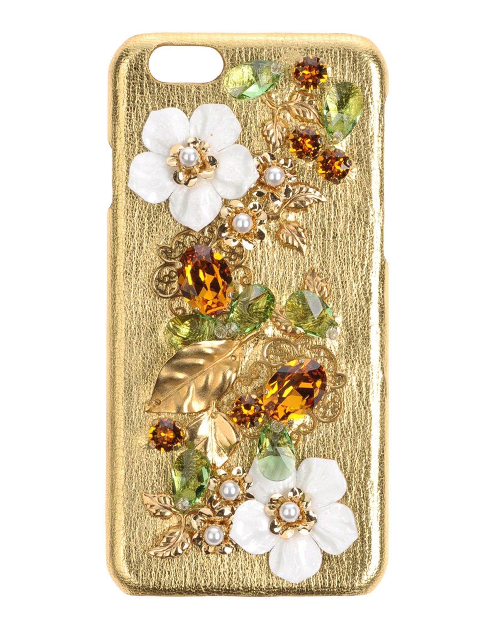 DOLCE & GABBANA Damen Hightech Accessoire Farbe Gold Größe 1