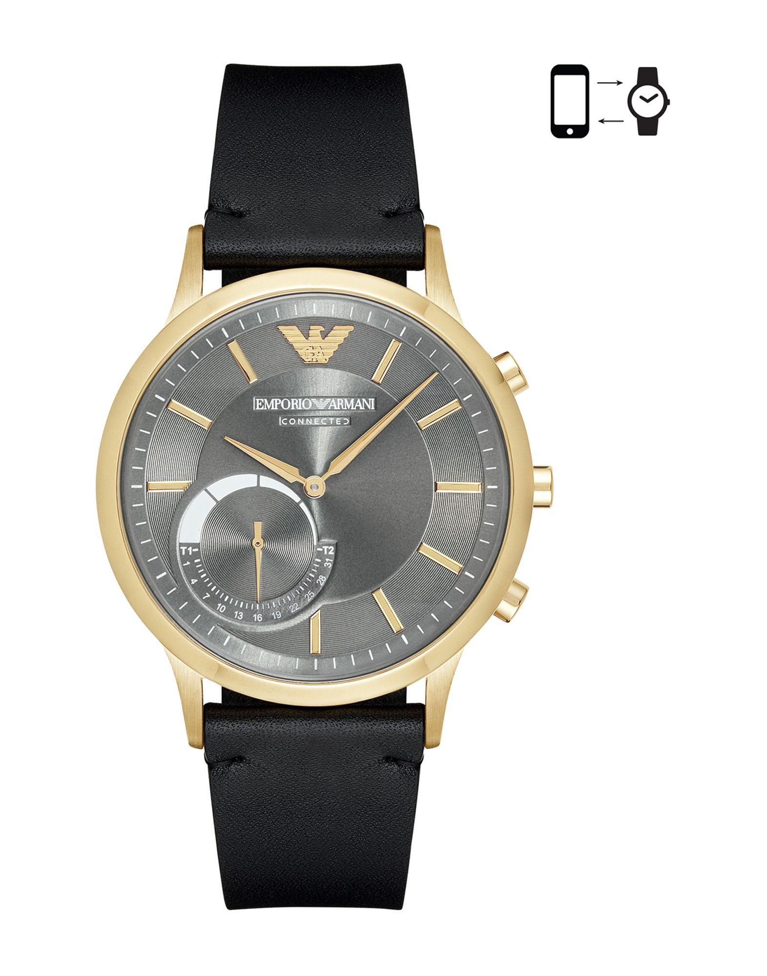 EMPORIO ARMANI CONNECTED Herren Smartwatch Farbe Granitgrau Größe 1
