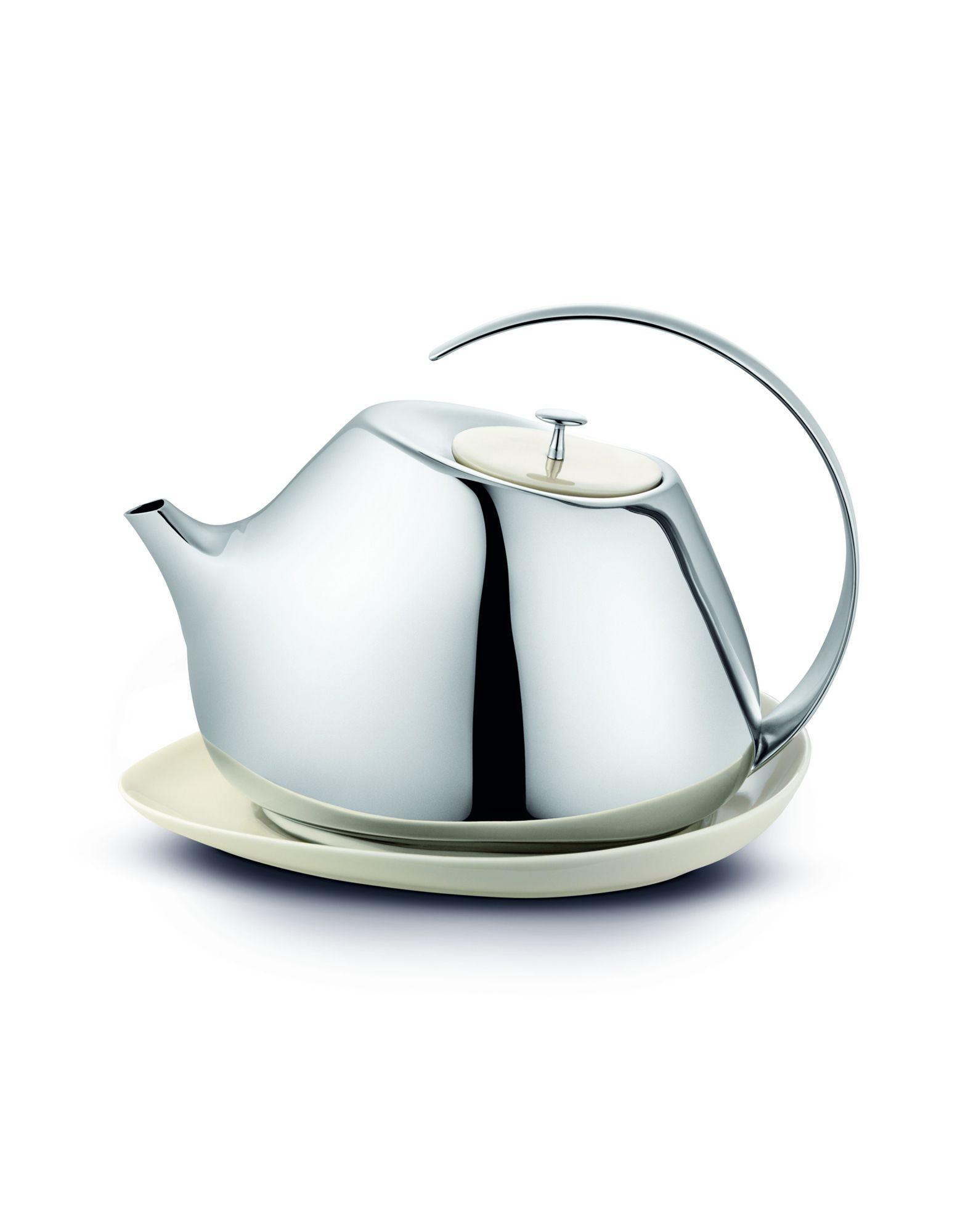 GEORG JENSEN Unisex Tee & Kaffee Farbe Silber Größe 1