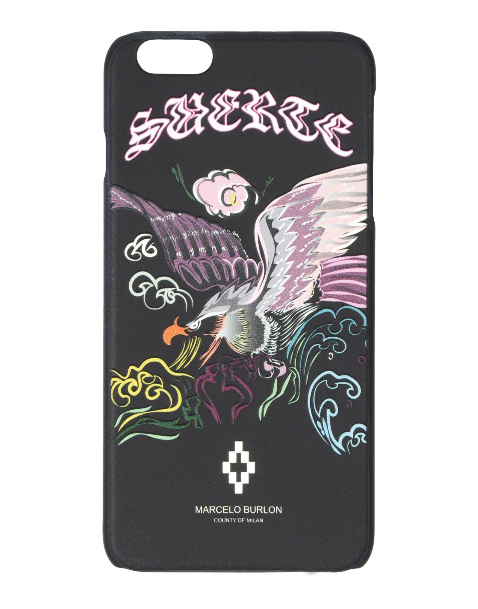 Фото - MARCELO BURLON Чехол чехол накладка для apple iphone 6 6s deppa gel plus case 85213 pink клип кейс полиуретан