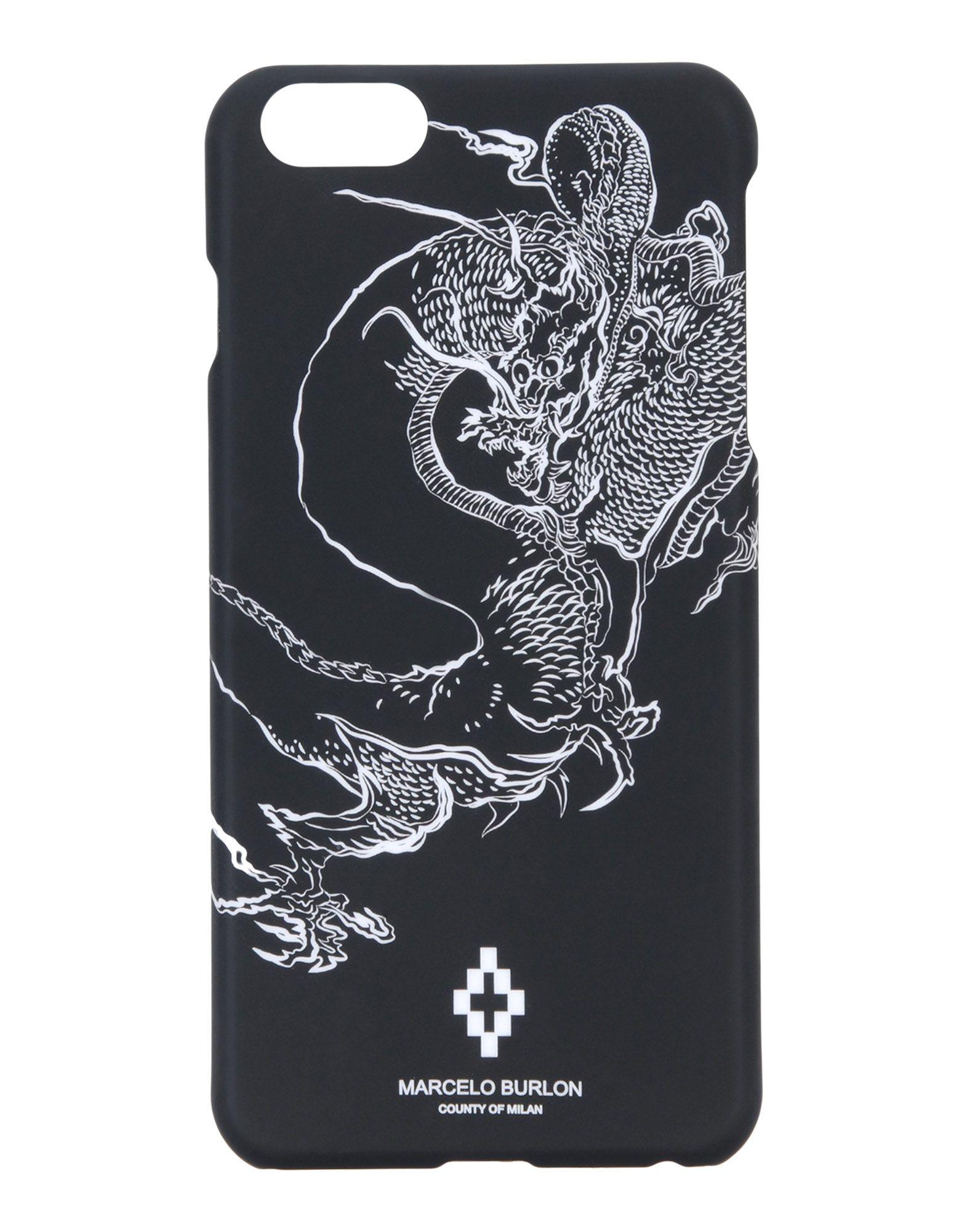 MARCELO BURLON Чехол чехол накладка для iphone 5 5s 6 6s 6plus 6s plus змеиный дизайн