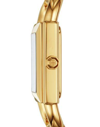 TORY BURCH Damen Armbanduhr Weiß Edelstahl