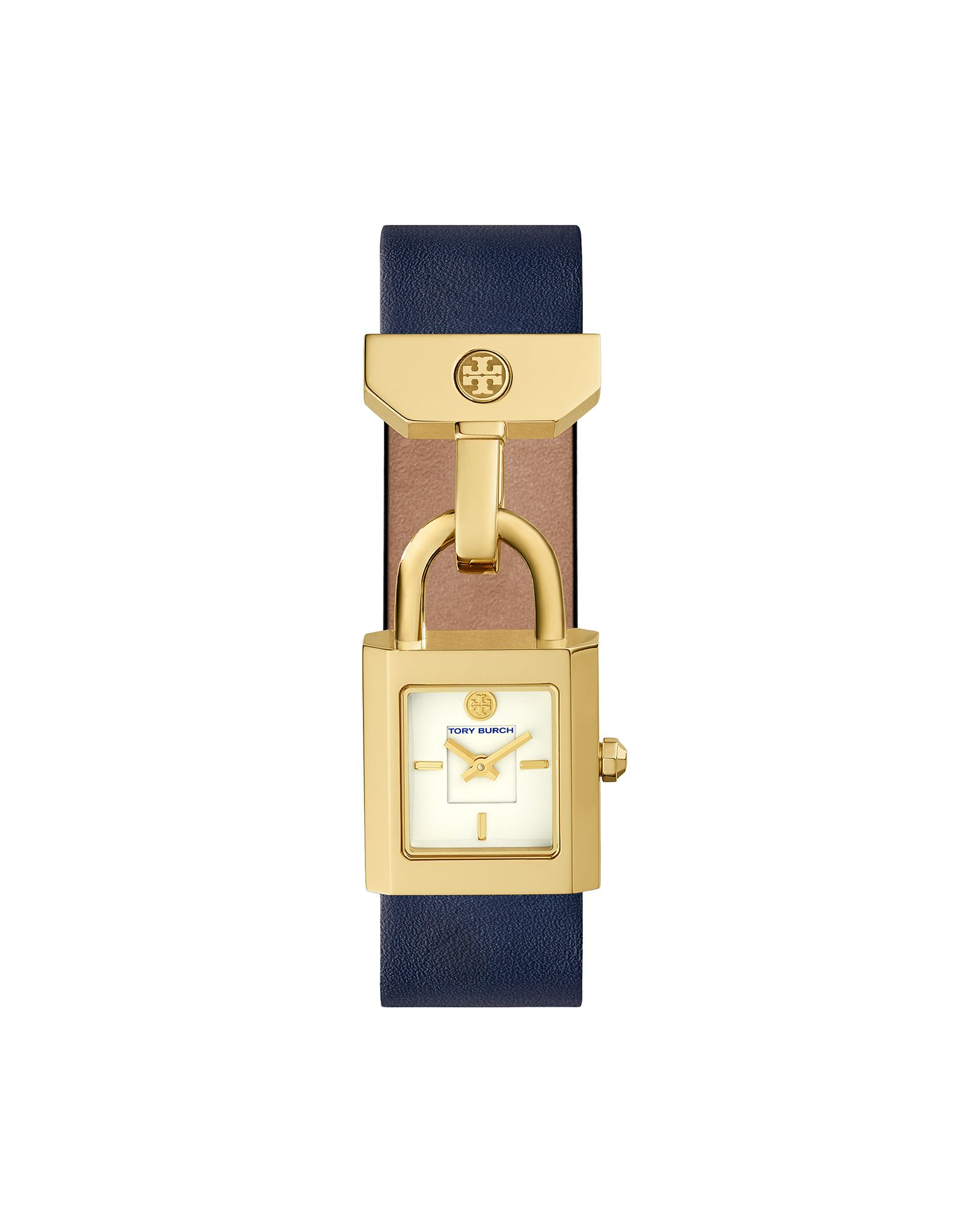 TORY BURCH Damen Armbanduhr Farbe Weiß Größe 1 - broschei